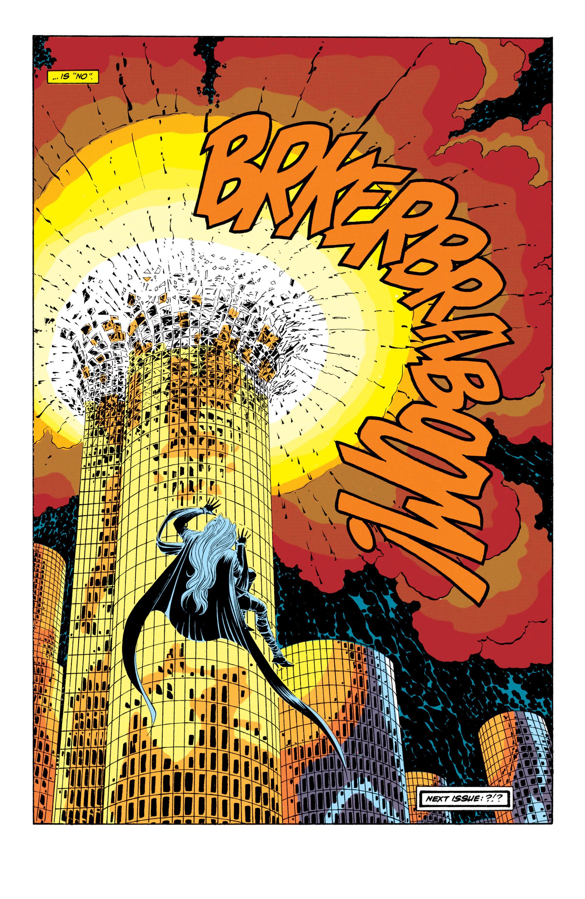 Read online Uncanny X-Men (1963) comic -  Issue #301 - 21