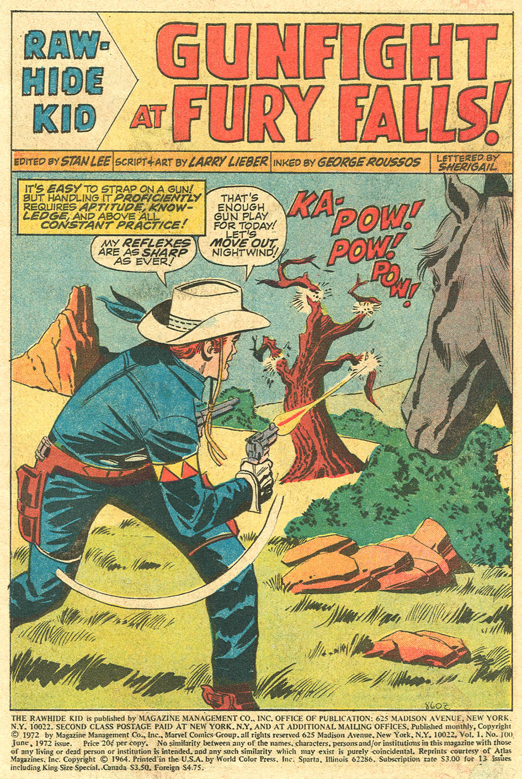 The Rawhide Kid (1955) issue 100 - Page 3