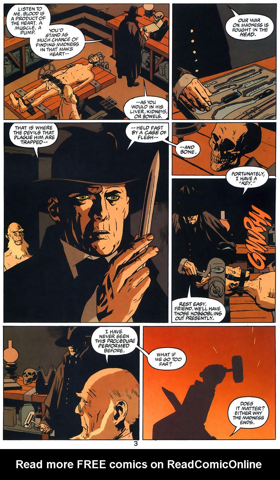 Read online Arkham Asylum: Living Hell comic -  Issue #1 - 5