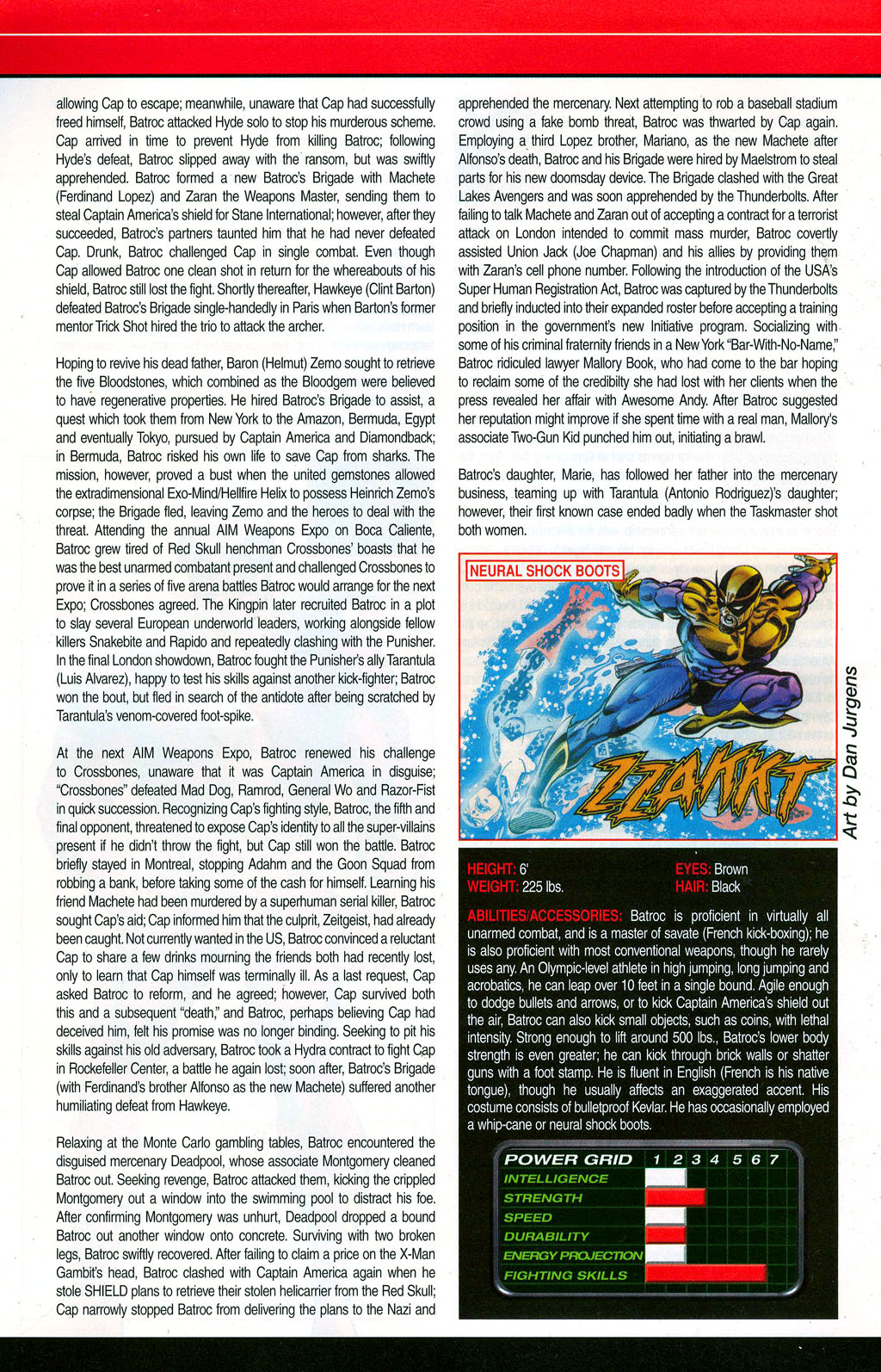 Read online All-New Official Handbook of the Marvel Universe A to Z: Update comic -  Issue #3 - 8