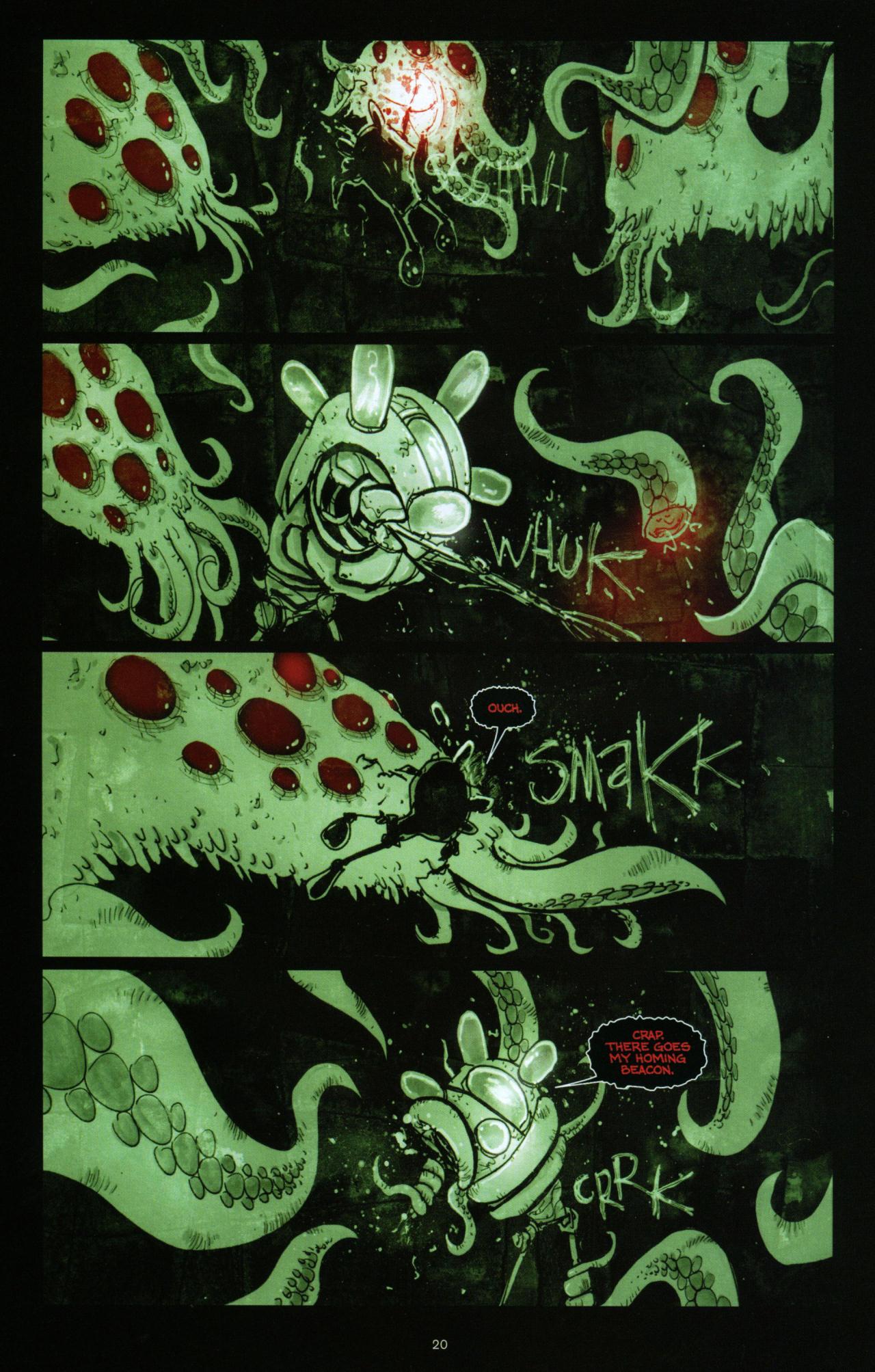 Read online Wormwood: Gentleman Corpse comic -  Issue #10 - 21