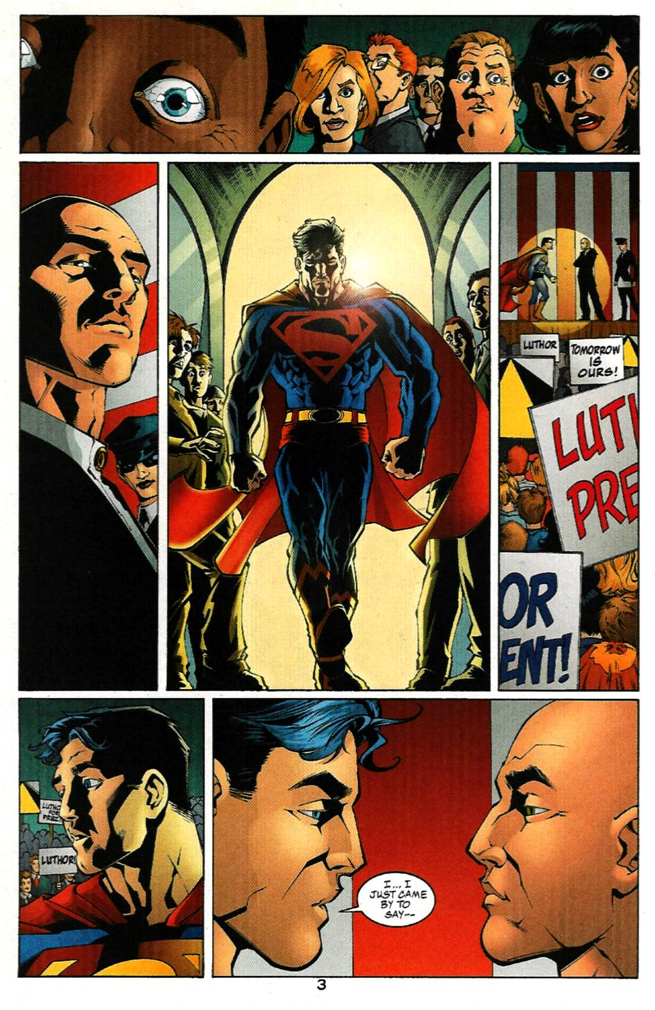 Read online Adventures of Superman (1987) comic -  Issue #586 - 4