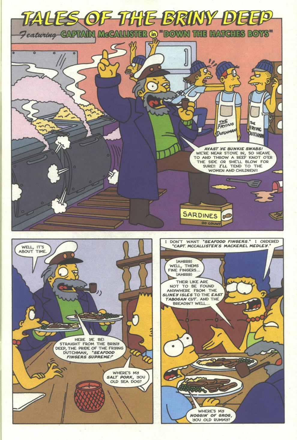 Read online Simpsons Comics comic -  Issue #27 - 26