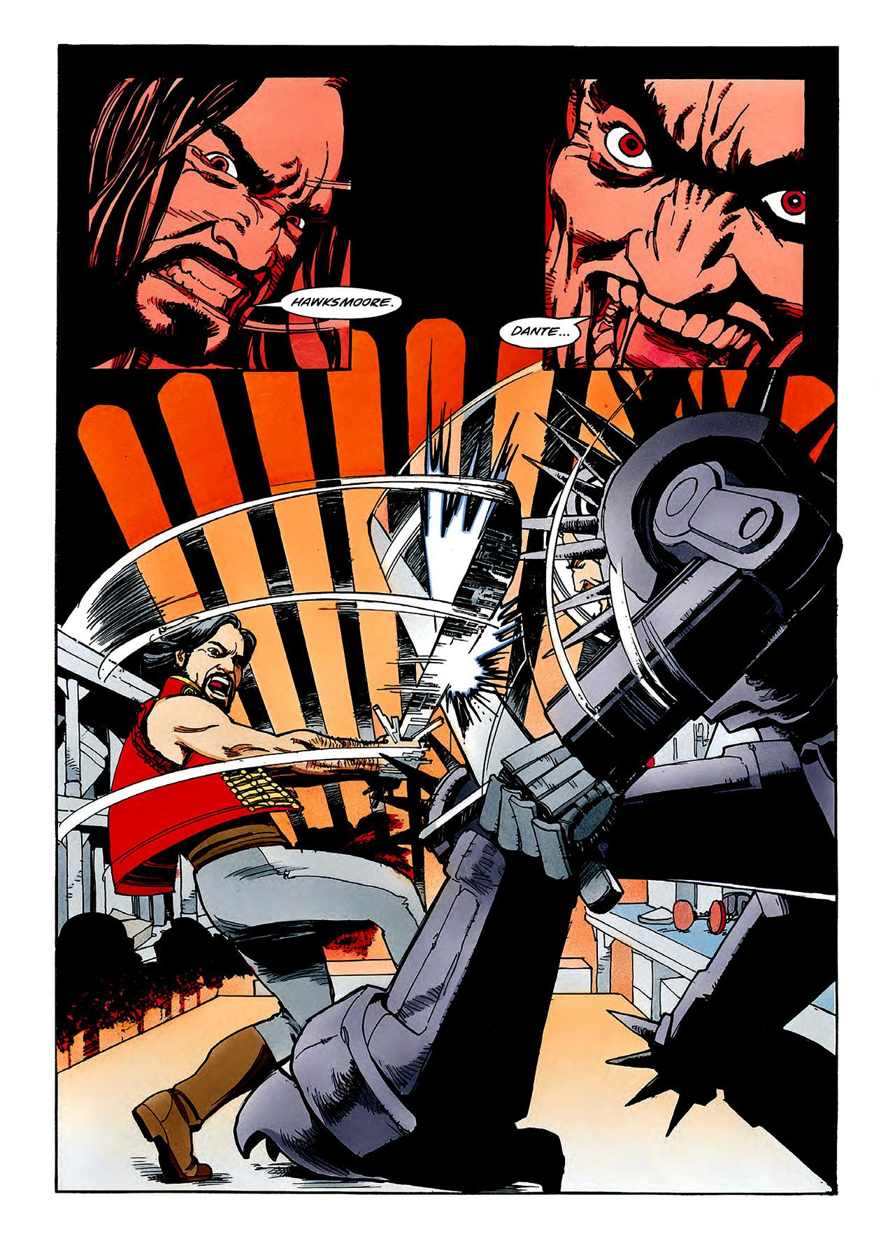 Read online Nikolai Dante comic -  Issue # TPB 3 - 119