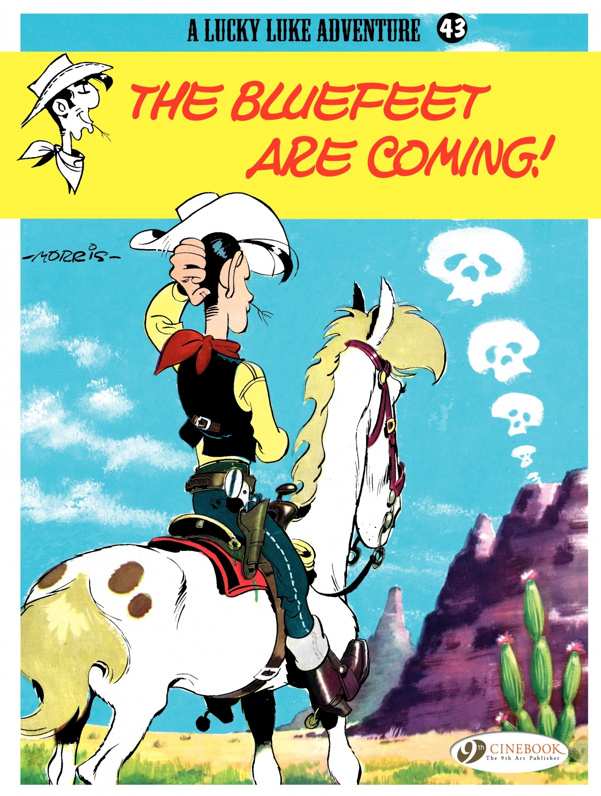 Read online A Lucky Luke Adventure comic -  Issue #43 - 1