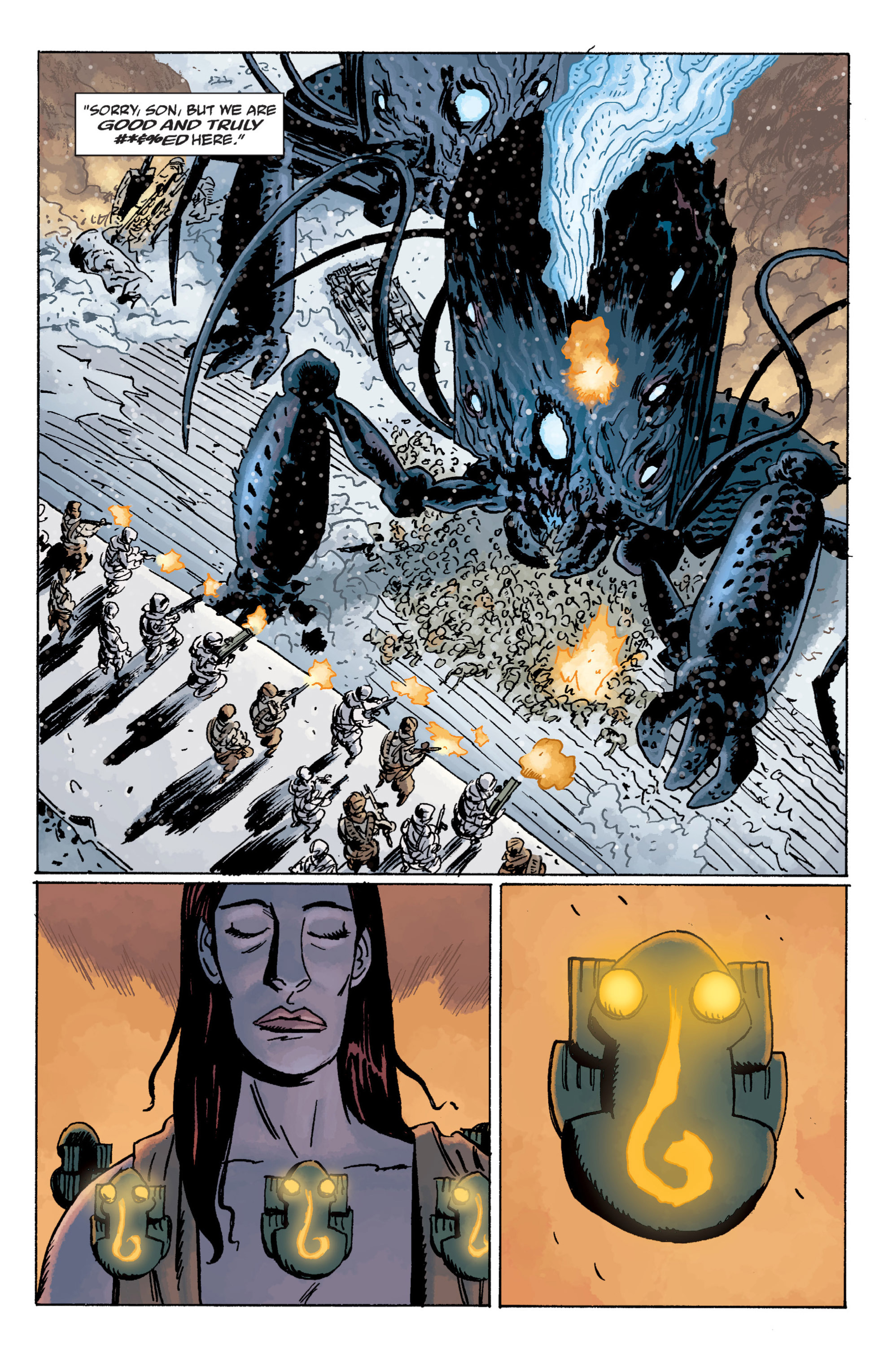 Read online B.P.R.D. (2003) comic -  Issue # TPB 11 - 79