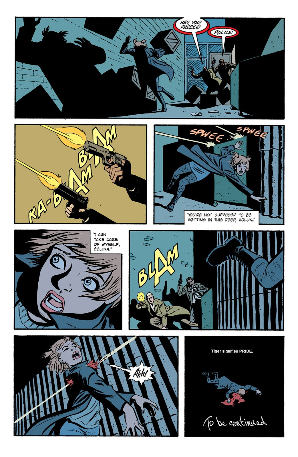 Catwoman (2002) Issue #6 #6 - English 23