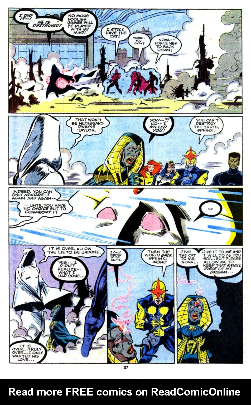 The New Warriors Issue #13 #17 - English 21