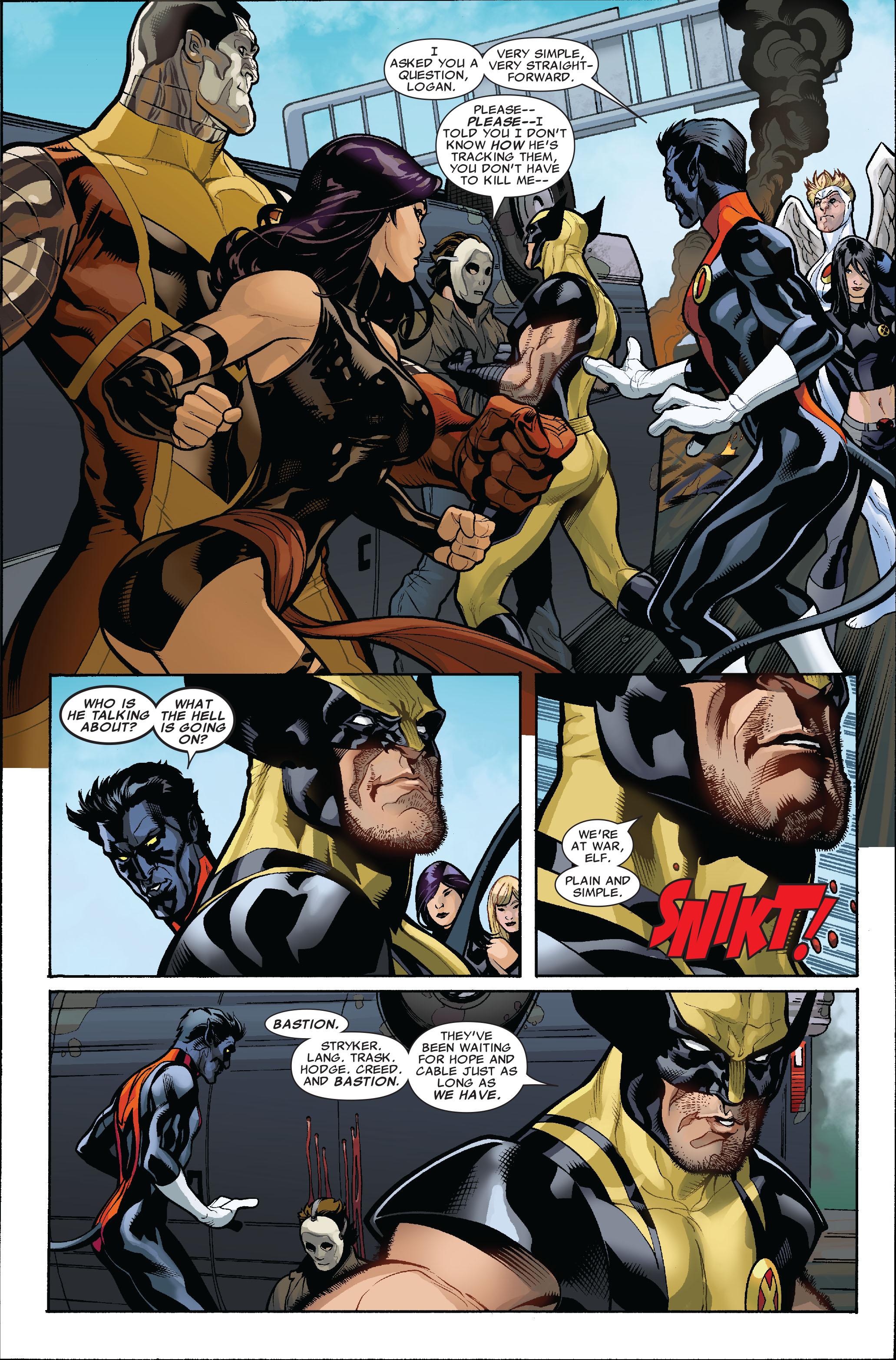 Read online Uncanny X-Men (1963) comic -  Issue #523 - 6