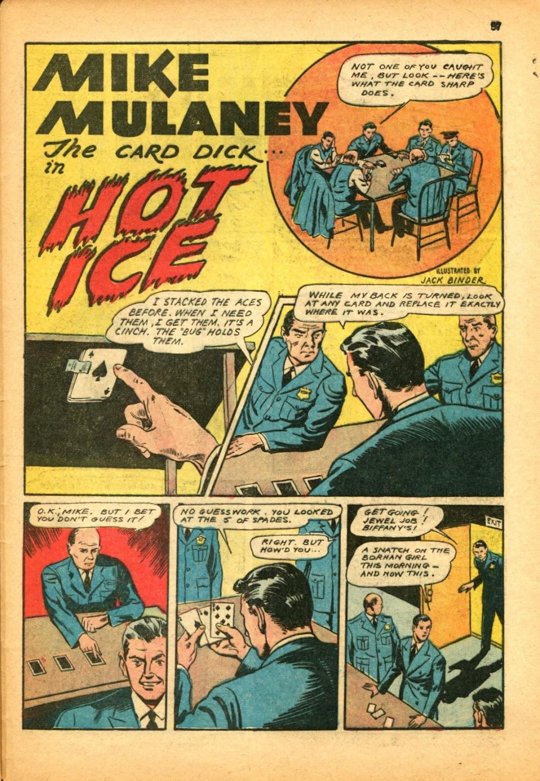 Read online Super-Magician Comics comic -  Issue #12 - 57