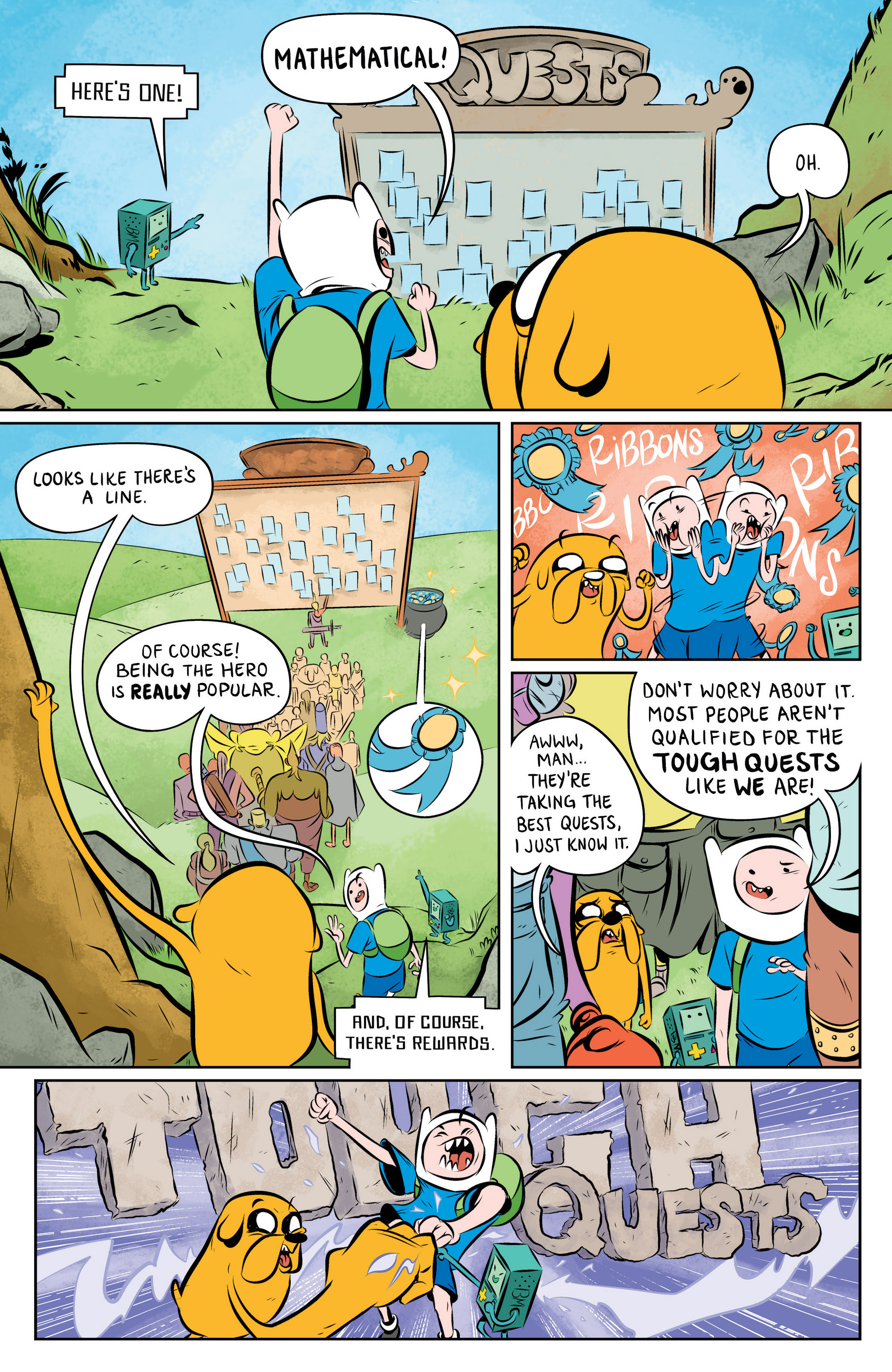 Read online Adventure Time: The Flip Side comic -  Issue #1 - 9