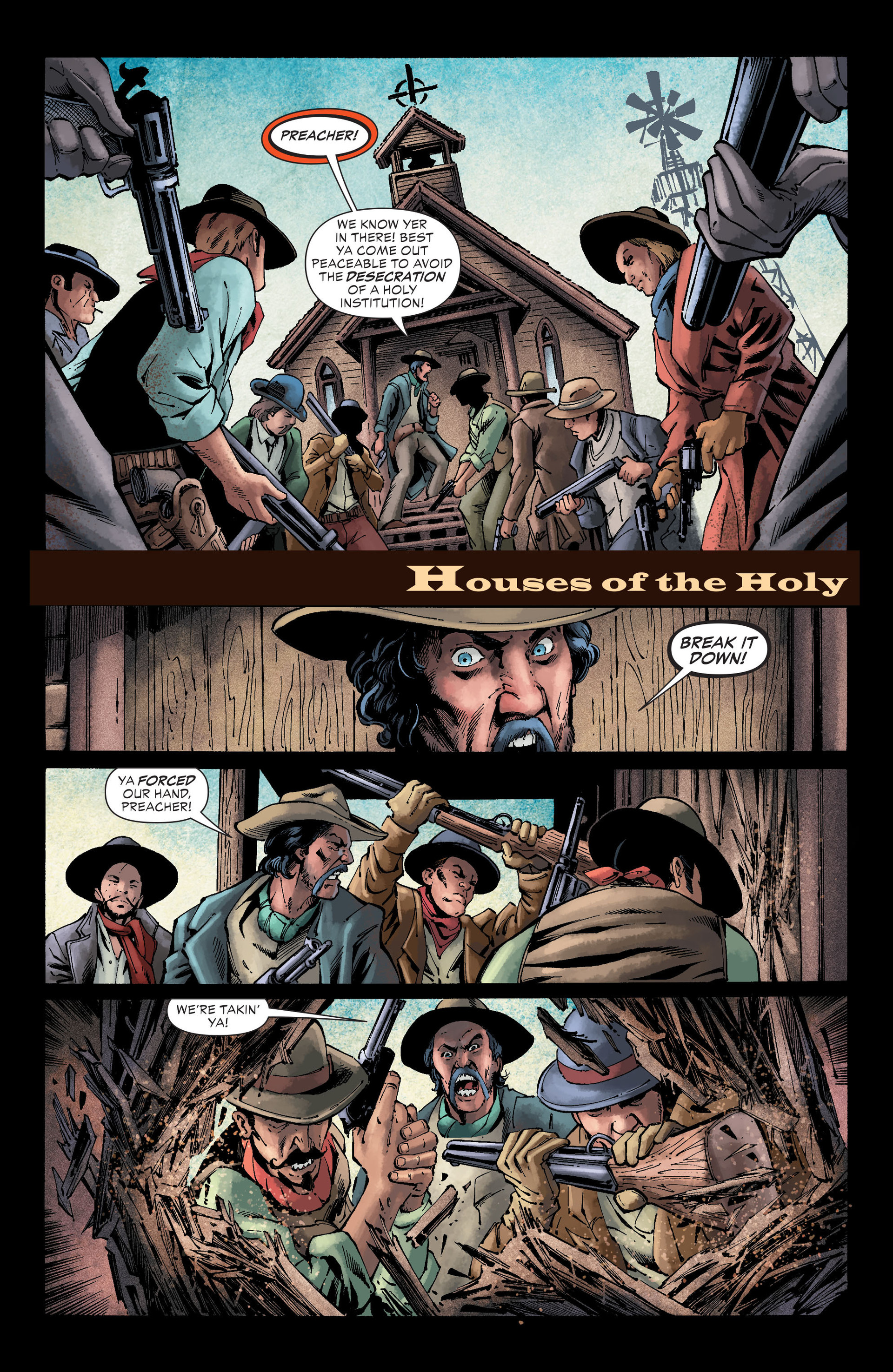 Read online All-Star Western (2011) comic -  Issue #26 - 2