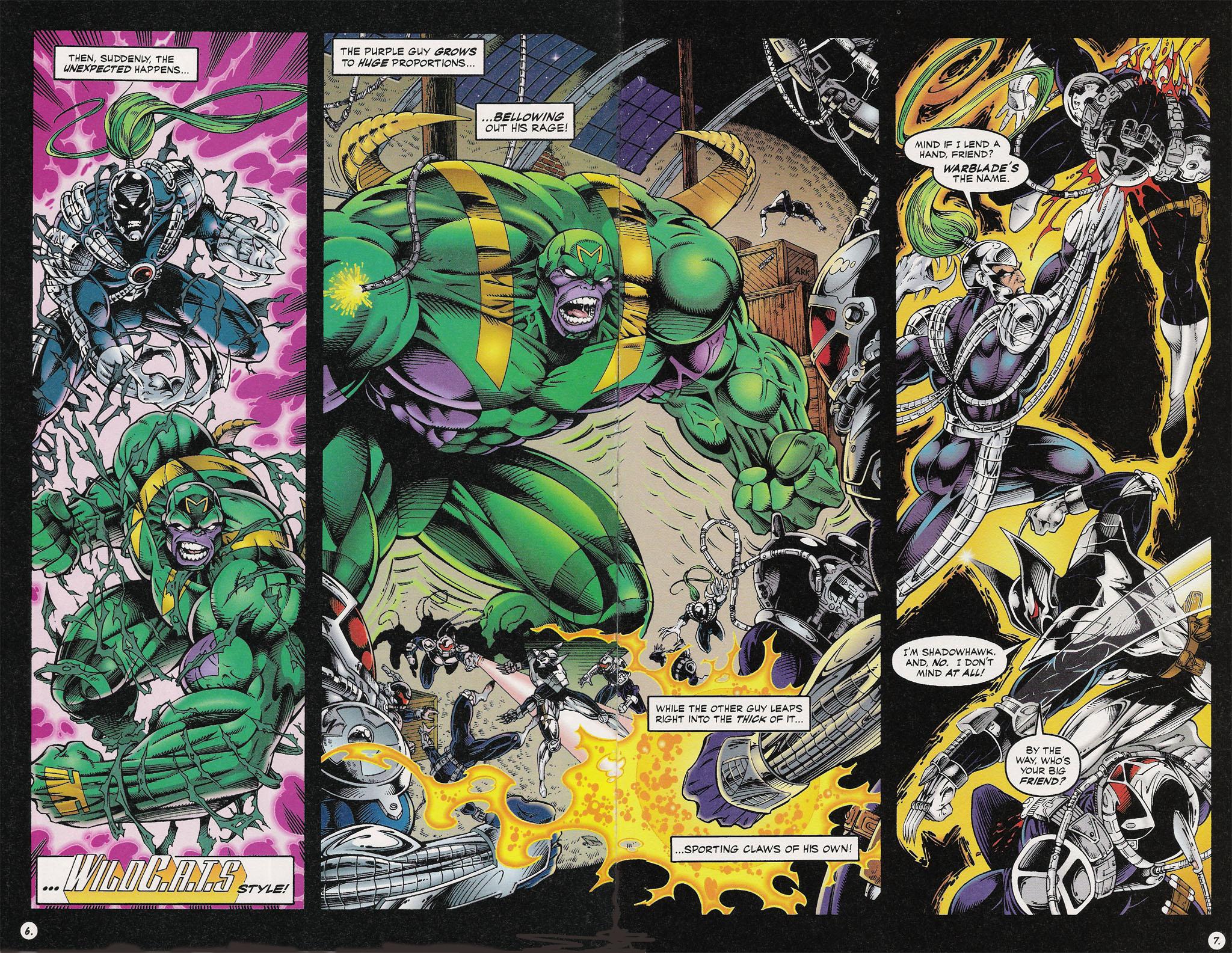 Read online ShadowHawk comic -  Issue #13 - 6