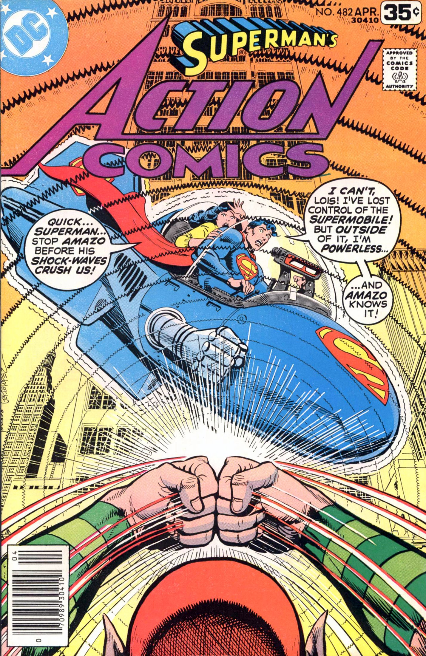 Read online Action Comics (1938) comic -  Issue #482 - 1