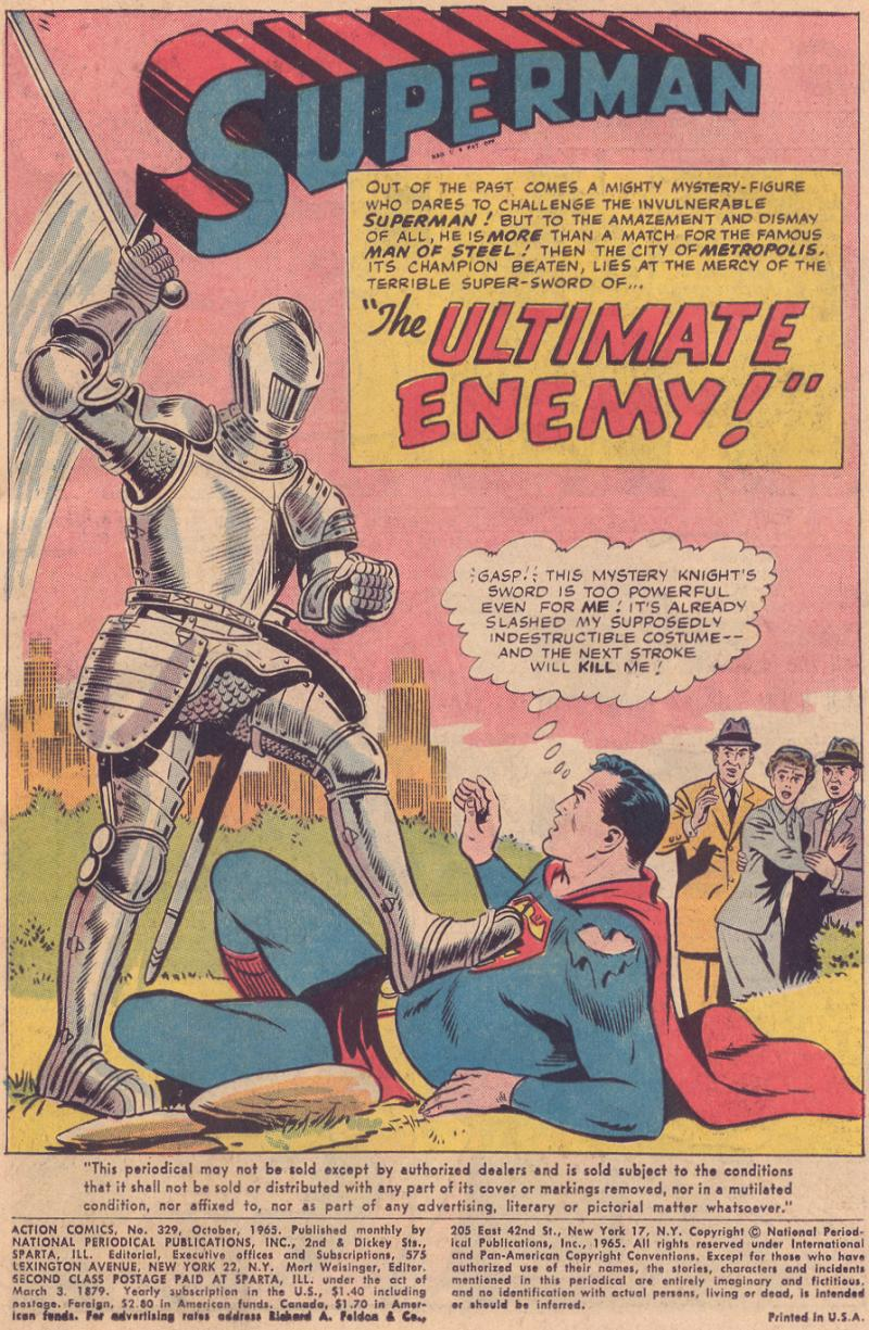 Read online Action Comics (1938) comic -  Issue #329 - 3