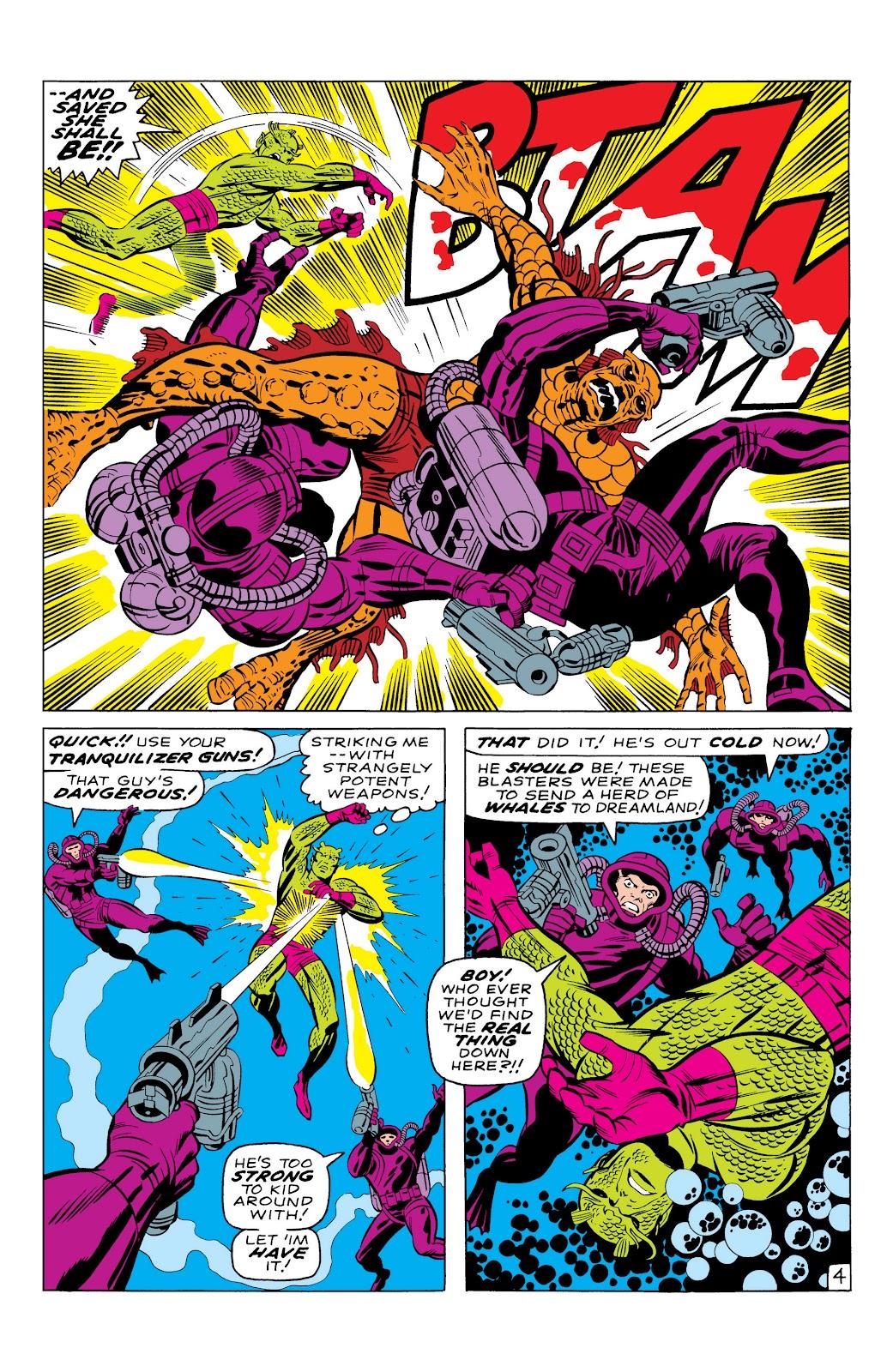 Read online Marvel Masterworks: The Inhumans comic -  Issue # TPB 1 (Part 1) - 31
