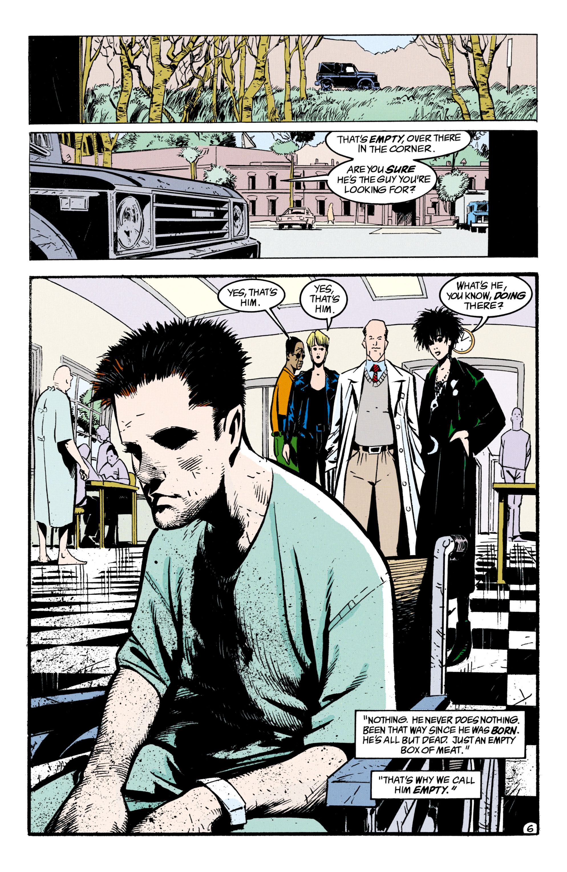 Read online Shade, the Changing Man comic -  Issue #33 - 7