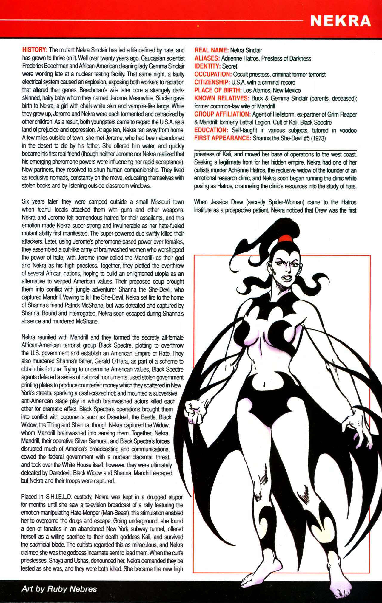 Read online All-New Official Handbook of the Marvel Universe A to Z comic -  Issue #8 - 3