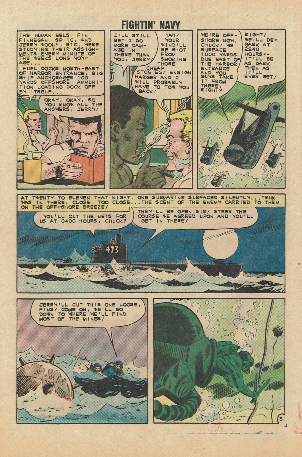 Read online Fightin' Navy comic -  Issue #104 - 28