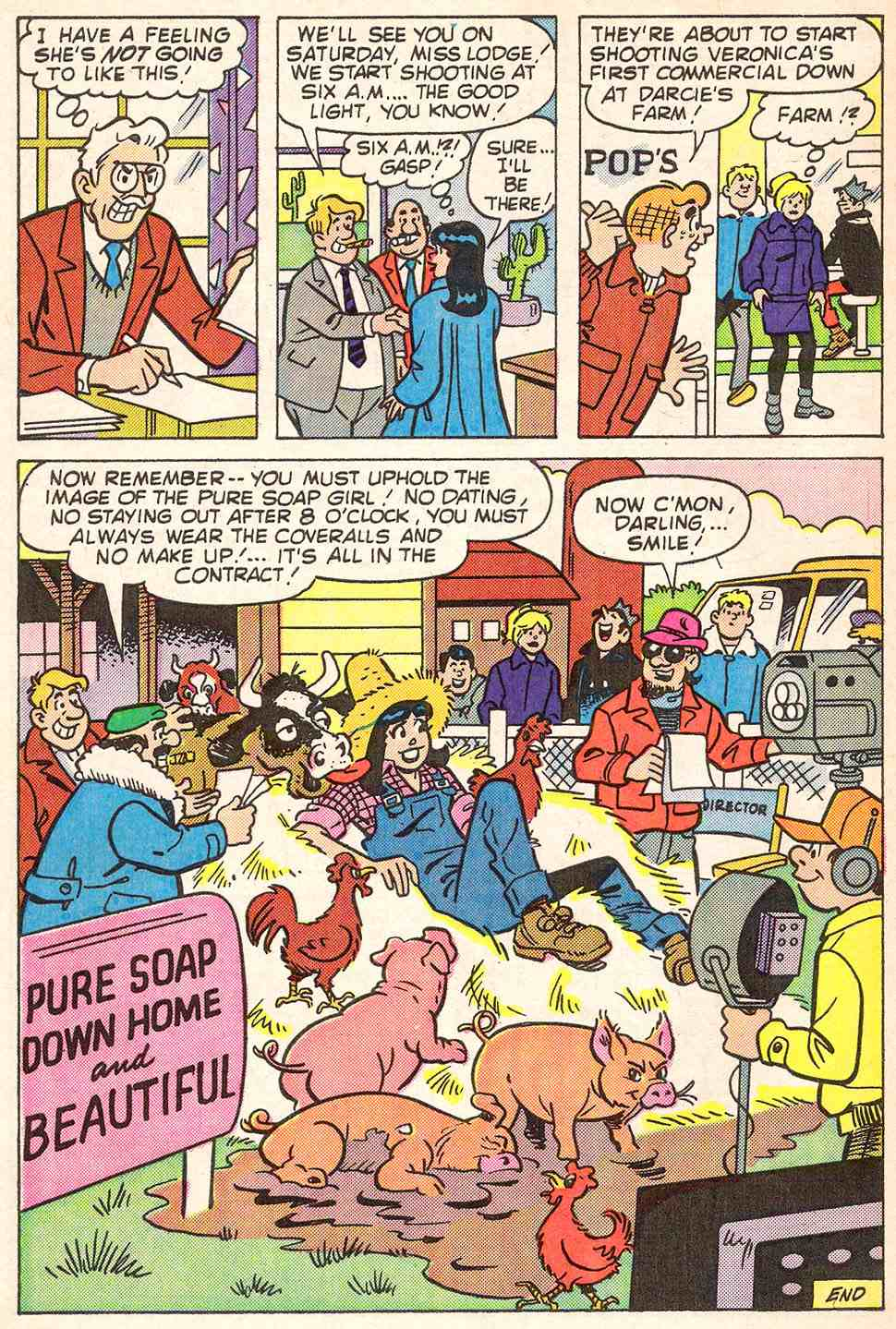 Read online Archie's Girls Betty and Veronica comic -  Issue #347 - 32