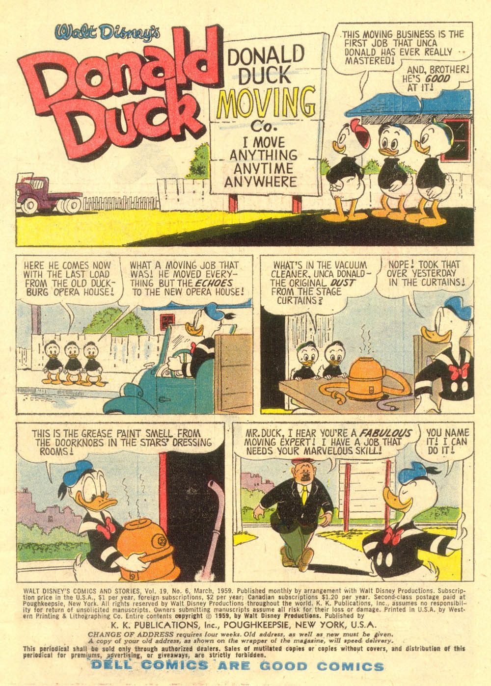 Walt Disney's Comics and Stories issue 222 - Page 3