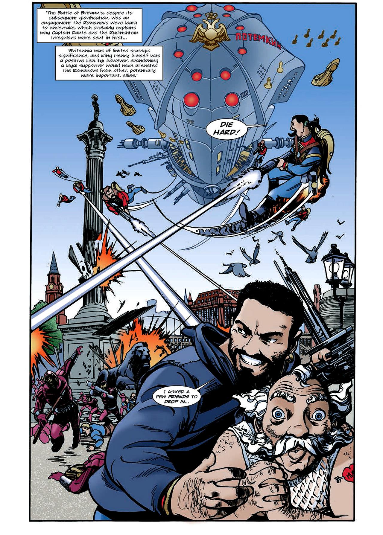 Read online Nikolai Dante comic -  Issue # TPB 4 - 104