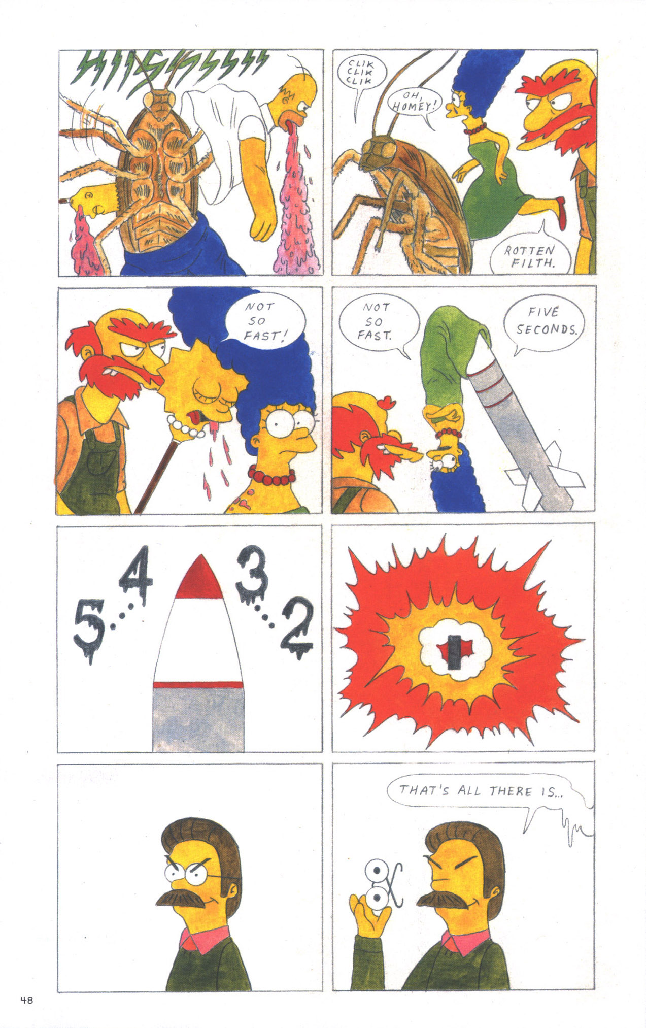 Read online Treehouse of Horror comic -  Issue #15 - 51