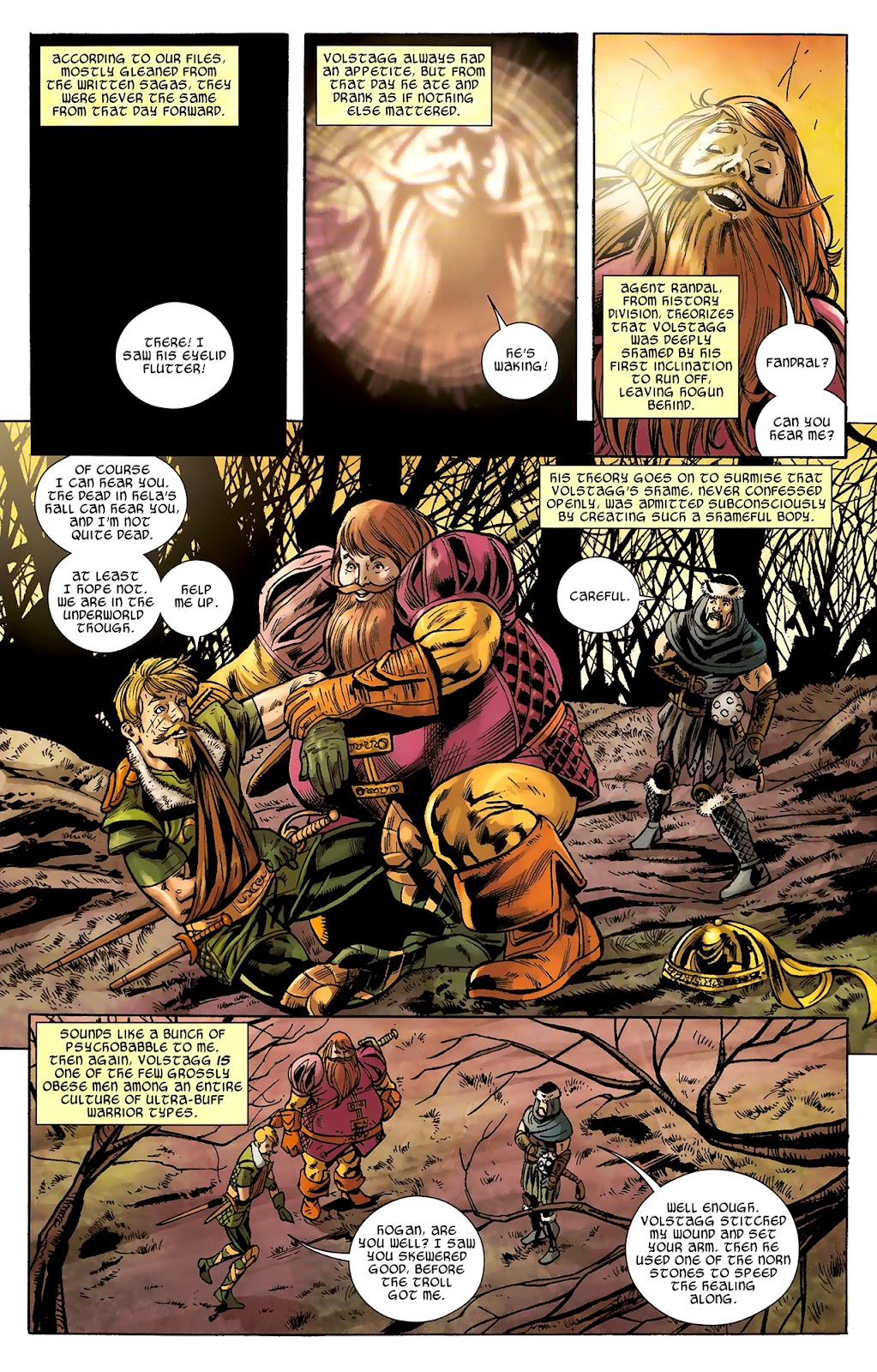 Warriors Three Issue #2 #2 - English 16