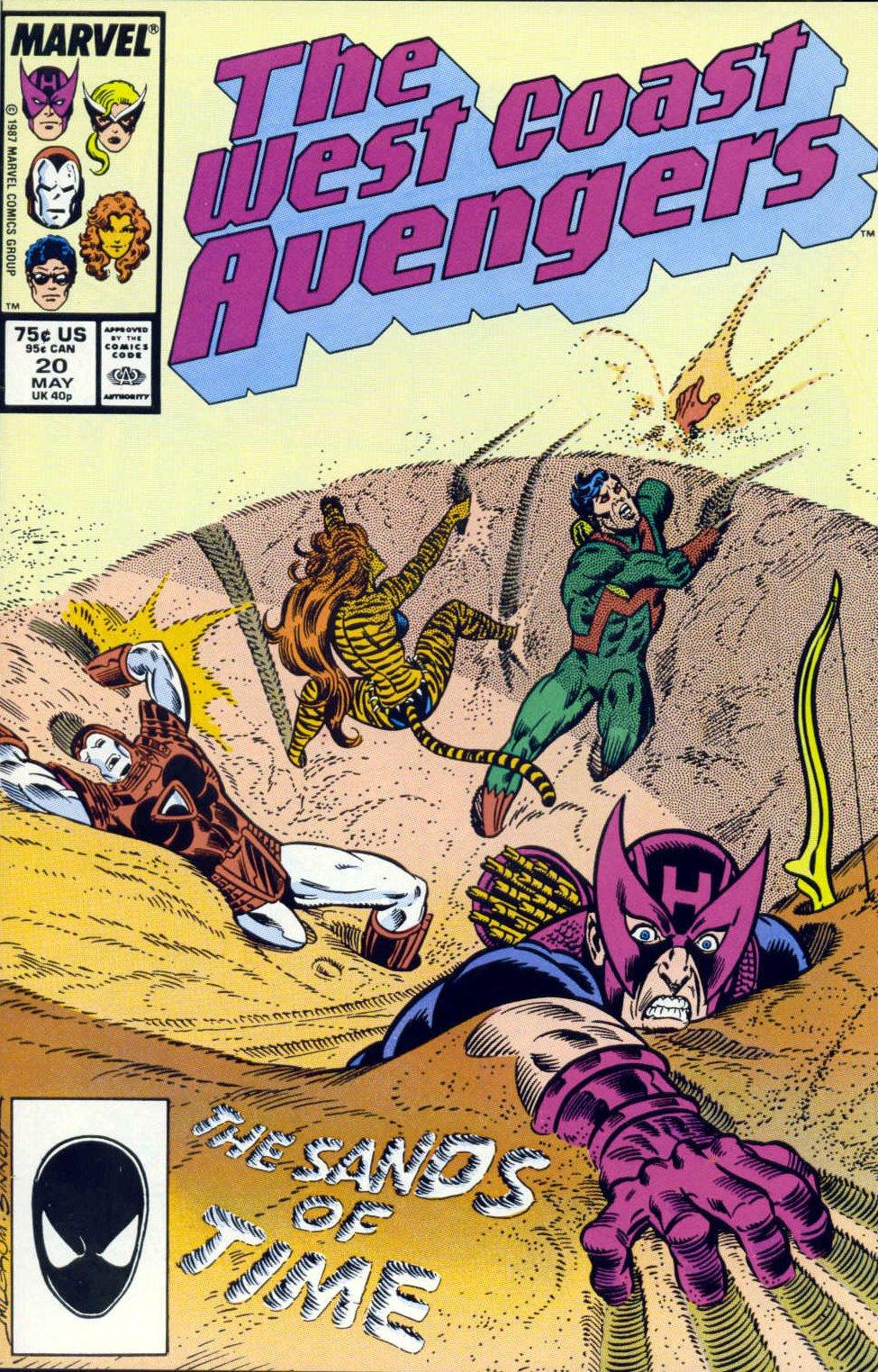 West Coast Avengers (1985) 20 Page 1