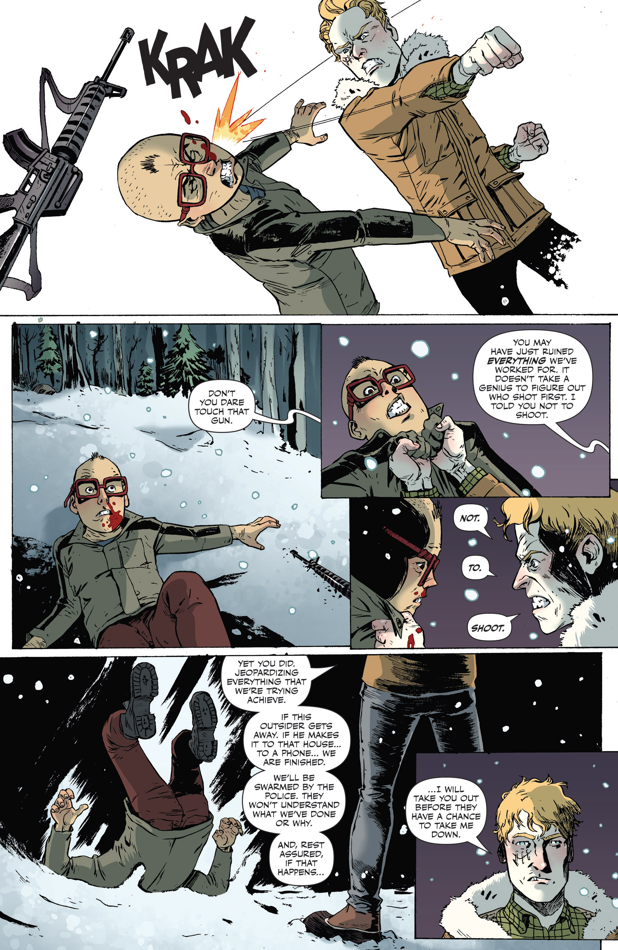 Read online Sheltered comic -  Issue #7 - 9