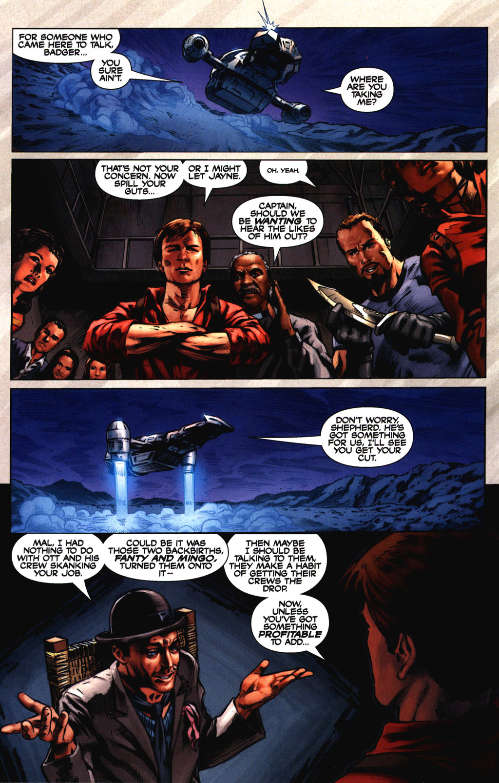 Read online Serenity comic -  Issue #2 - 14