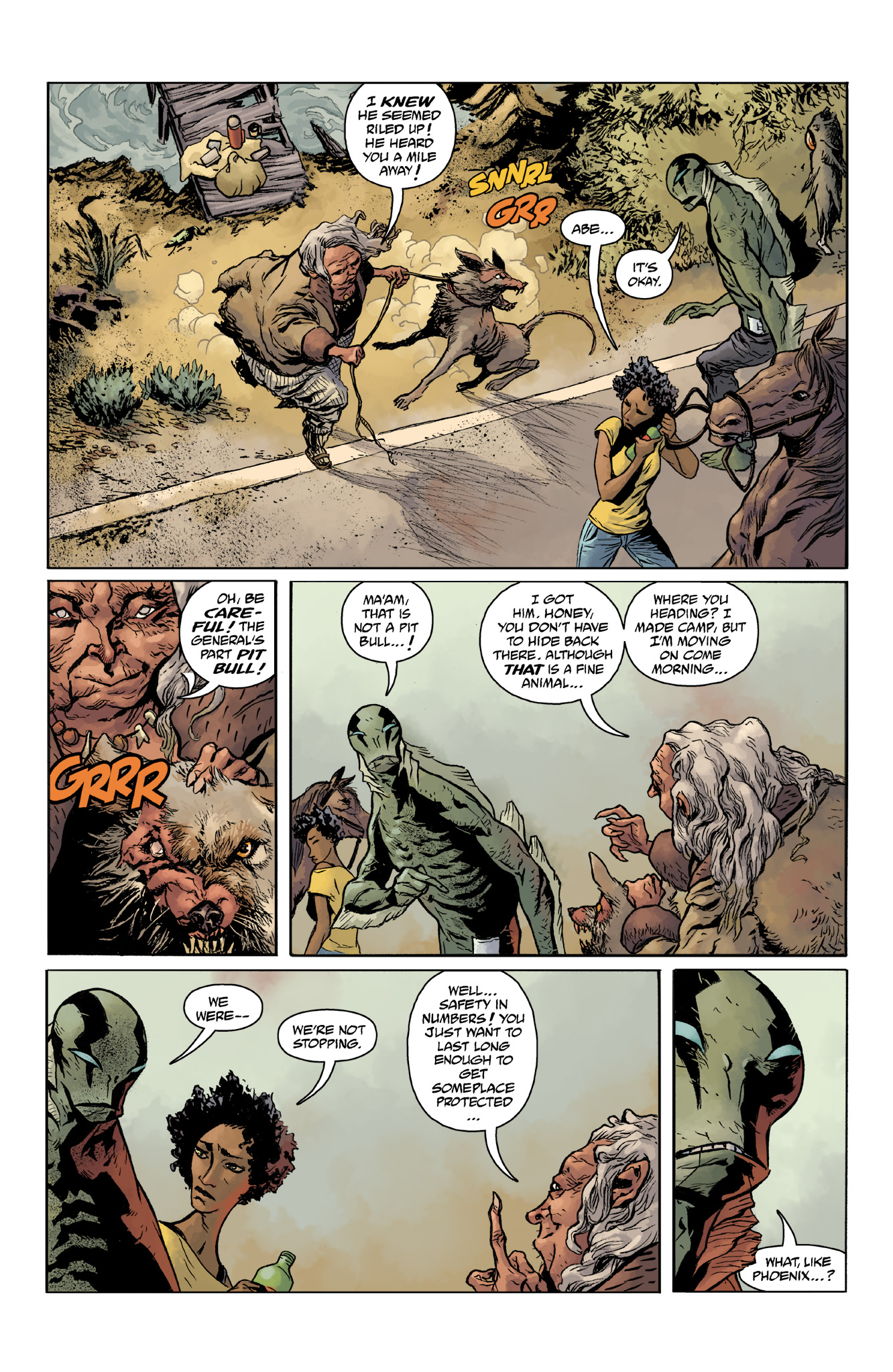 Read online Abe Sapien comic -  Issue #14 - 6