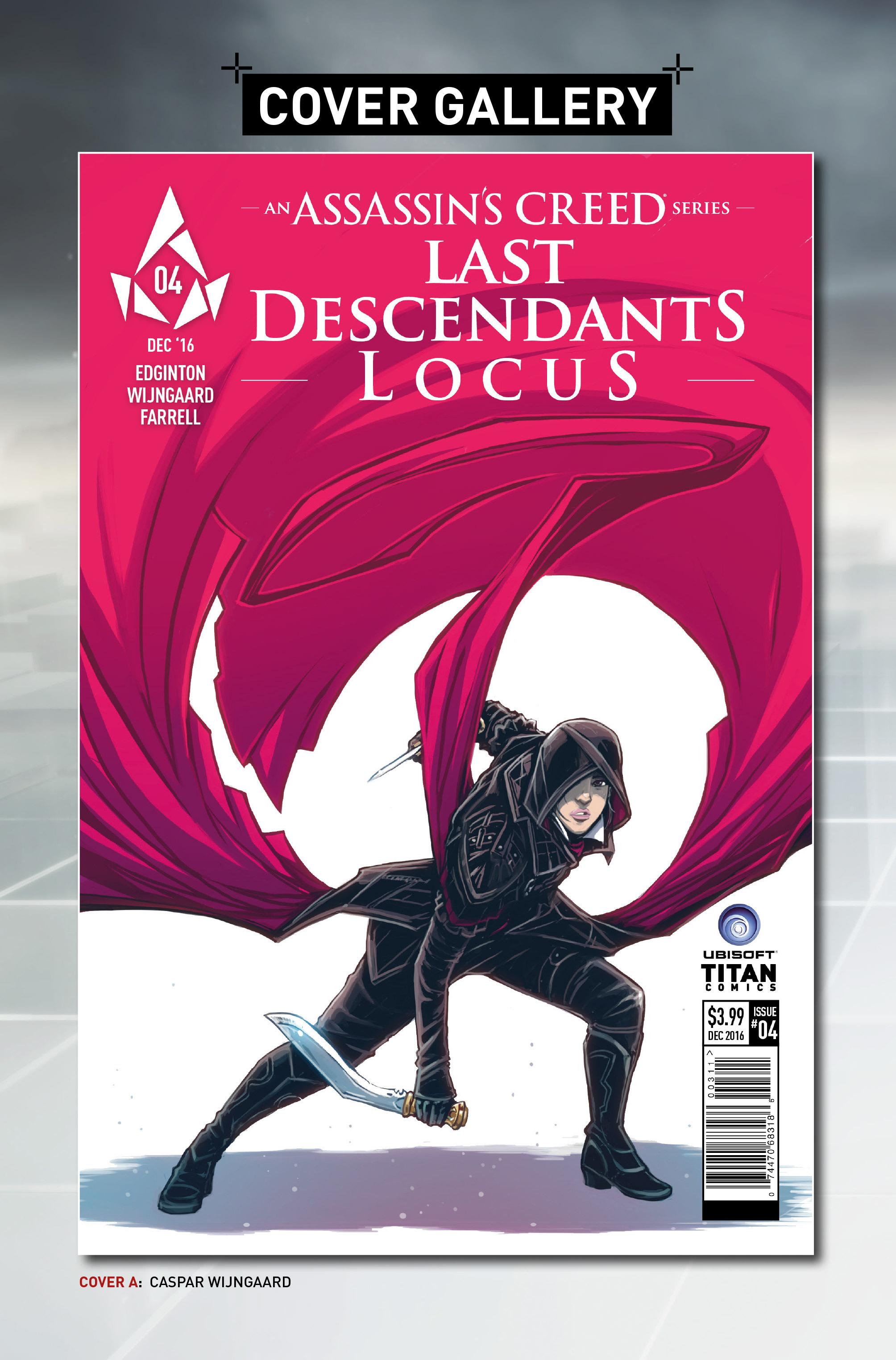Read online Assassin's Creed: Locus comic -  Issue #4 - 29