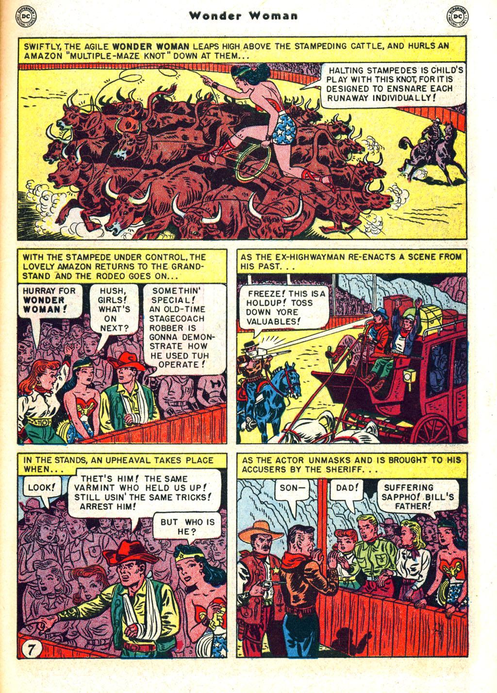 Read online Wonder Woman (1942) comic -  Issue #45 - 45