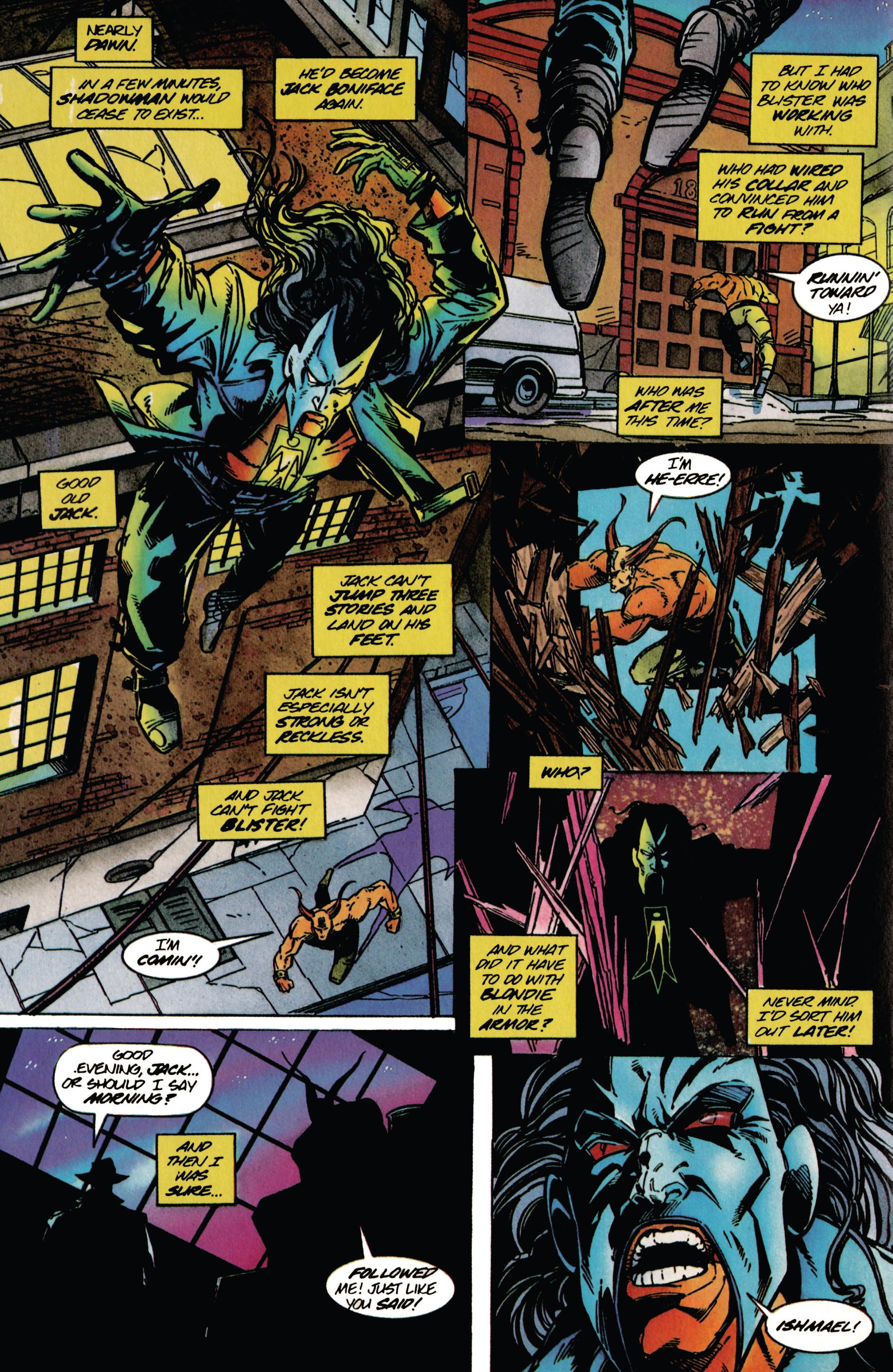 Read online Shadowman (1992) comic -  Issue #37 - 17
