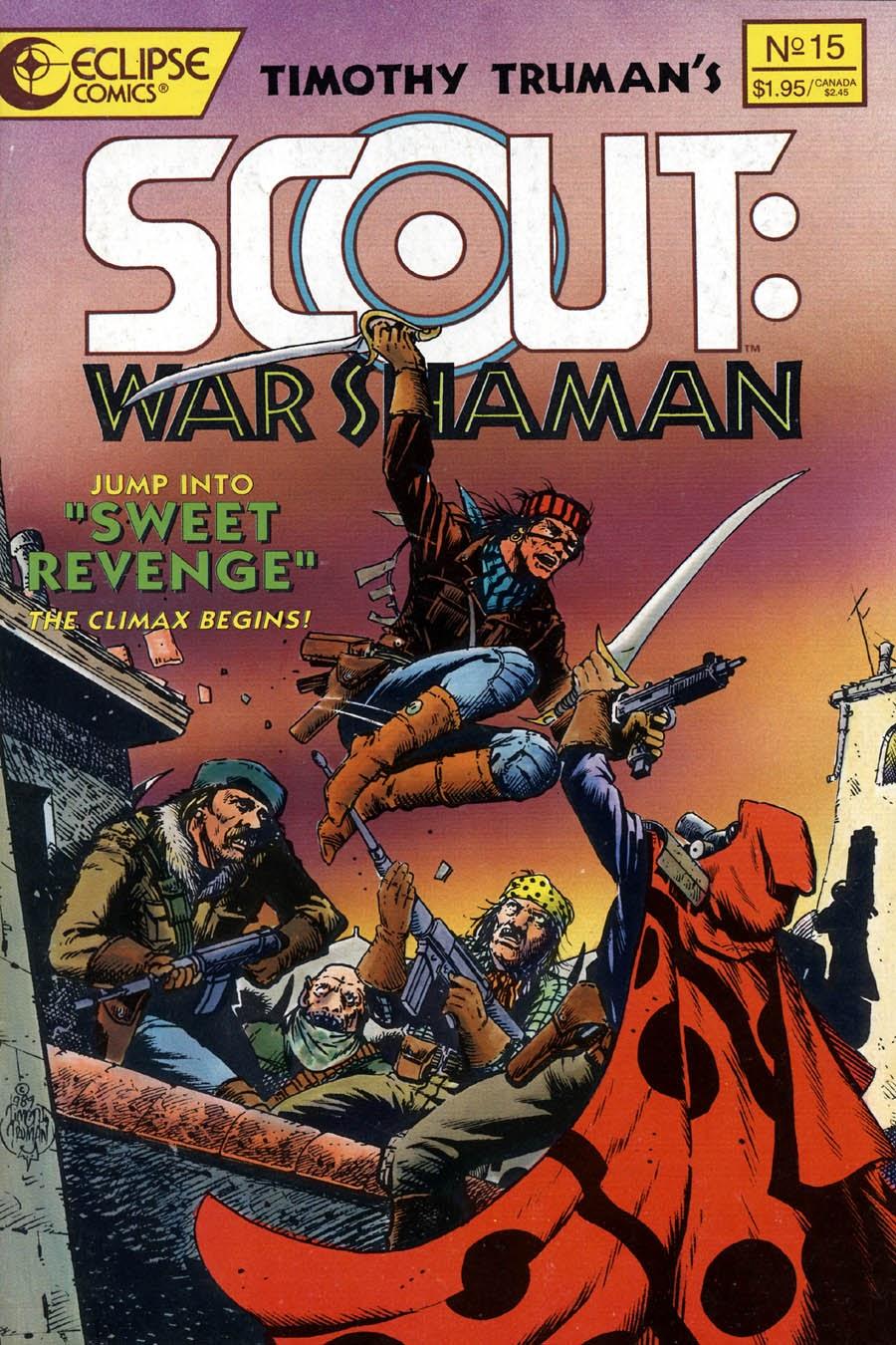 Scout: War Shaman 15 Page 1