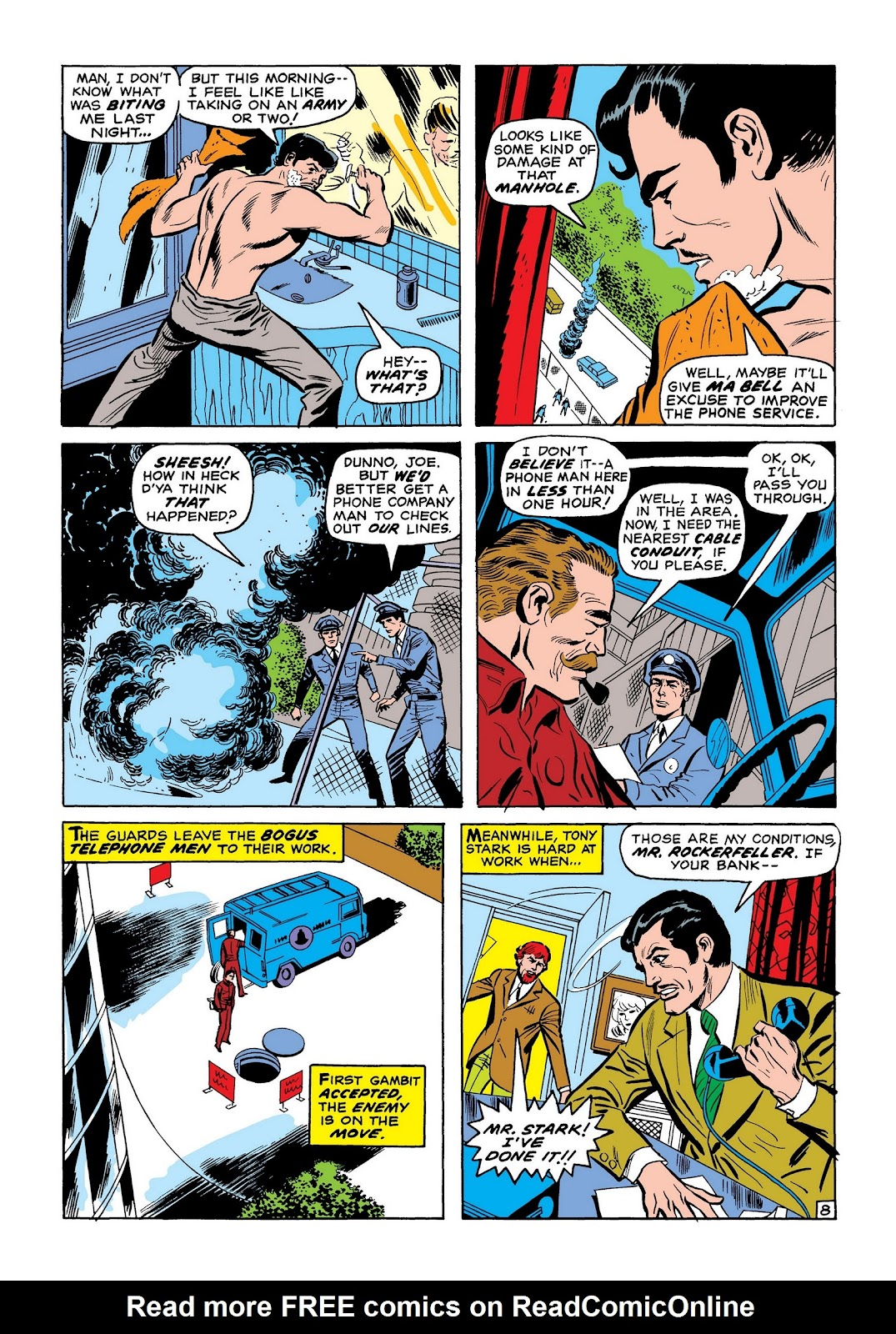 Read online Marvel Masterworks: The Invincible Iron Man comic -  Issue # TPB 7 (Part 2) - 57