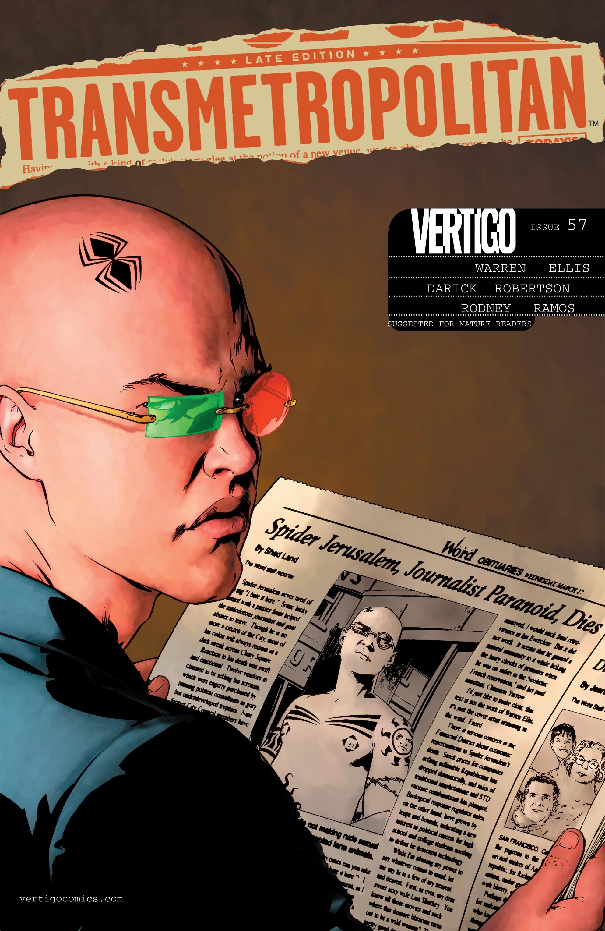 Read online Transmetropolitan comic -  Issue #57 - 1