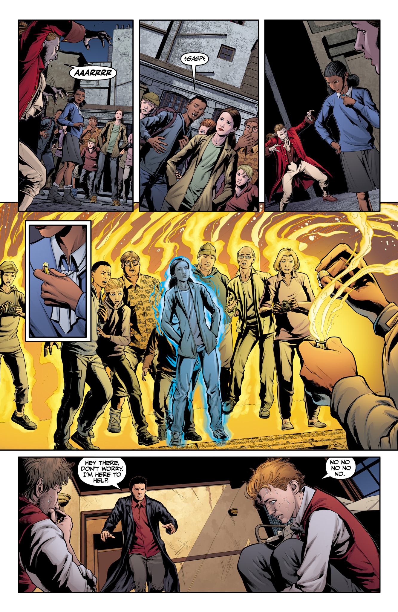Read online Angel & Faith Season 10 comic -  Issue #15 - 13
