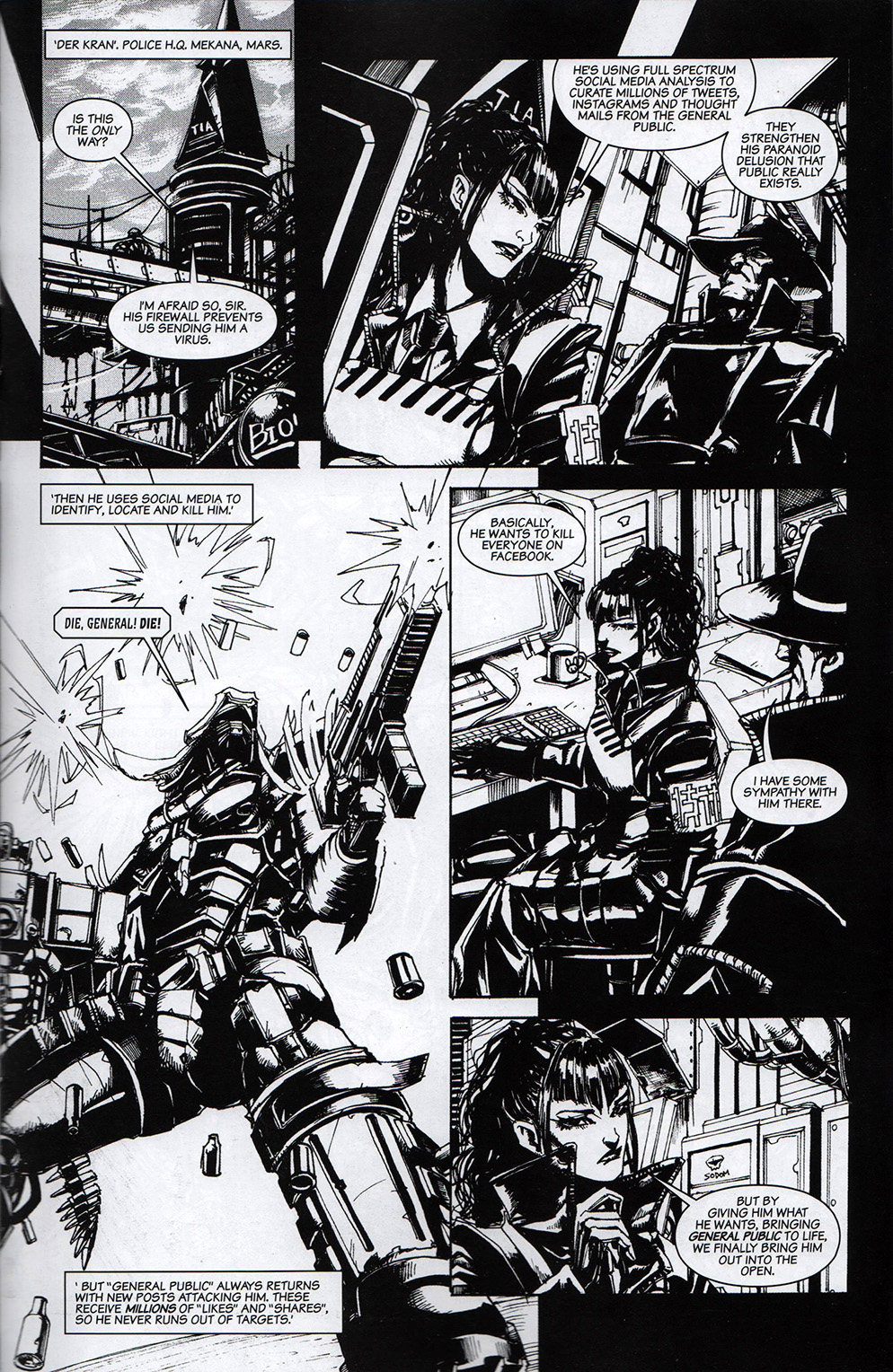 Read online Free Comic Book Day 2017 comic -  Issue # 2000 AD prog - 10