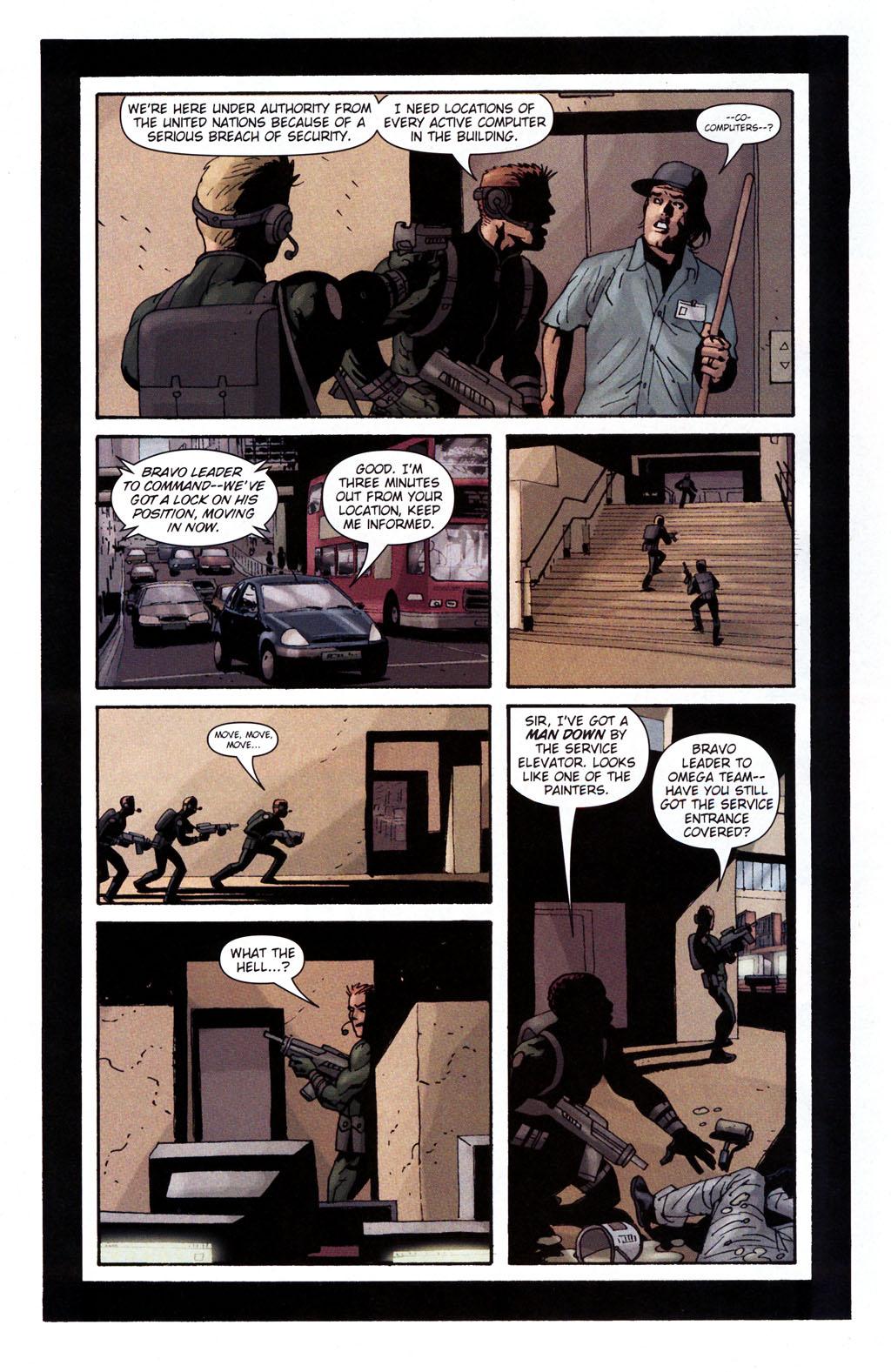 Read online Sleeper: Season Two comic -  Issue #5 - 11