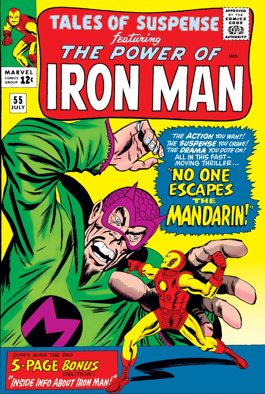 Tales of Suspense (1959) issue 55 - Page 1