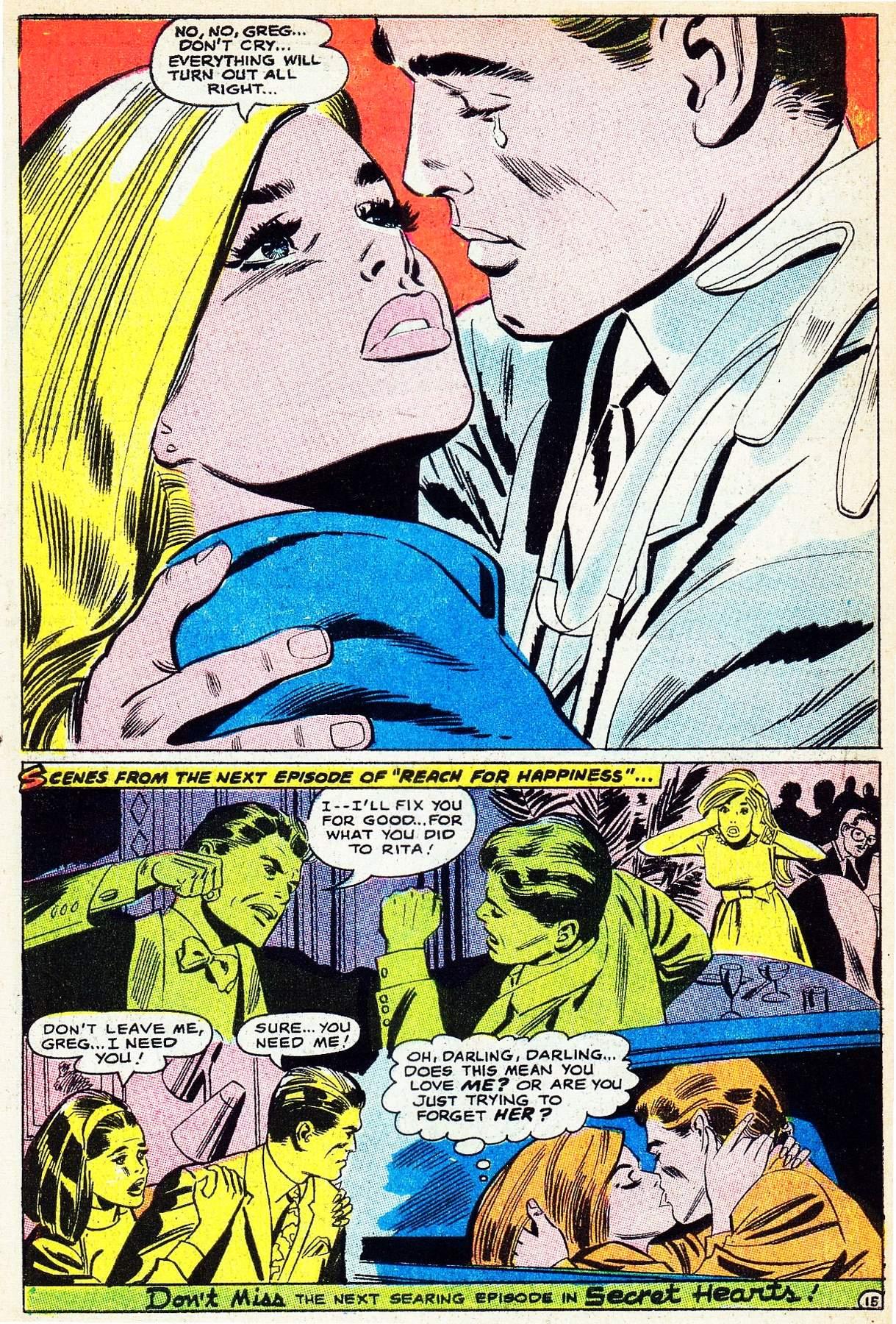 Read online Secret Hearts comic -  Issue #133 - 34