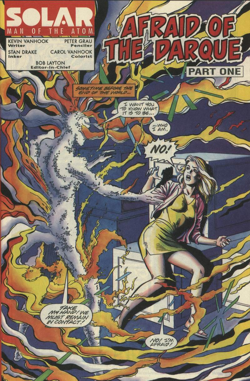 Read online Solar, Man of the Atom comic -  Issue #21 - 2