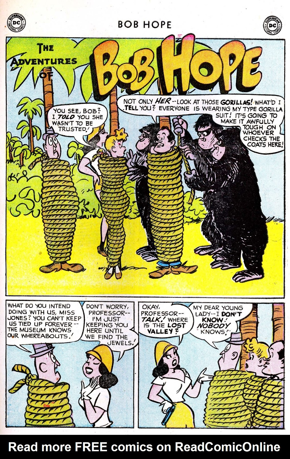 The Adventures of Bob Hope issue 33 - Page 27