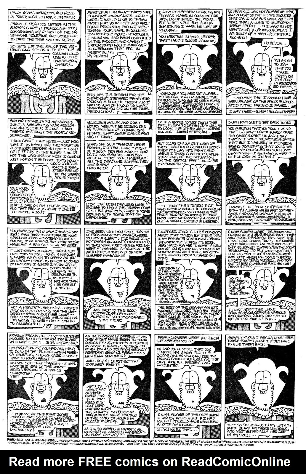 Read online The Nearly Complete Essential Hembeck Archives Omnibus comic -  Issue # TPB (Part 4) - 35