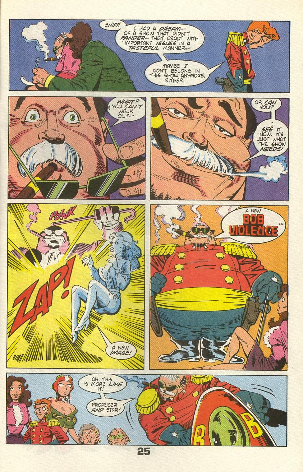 Read online American Flagg! comic -  Issue #35 - 31