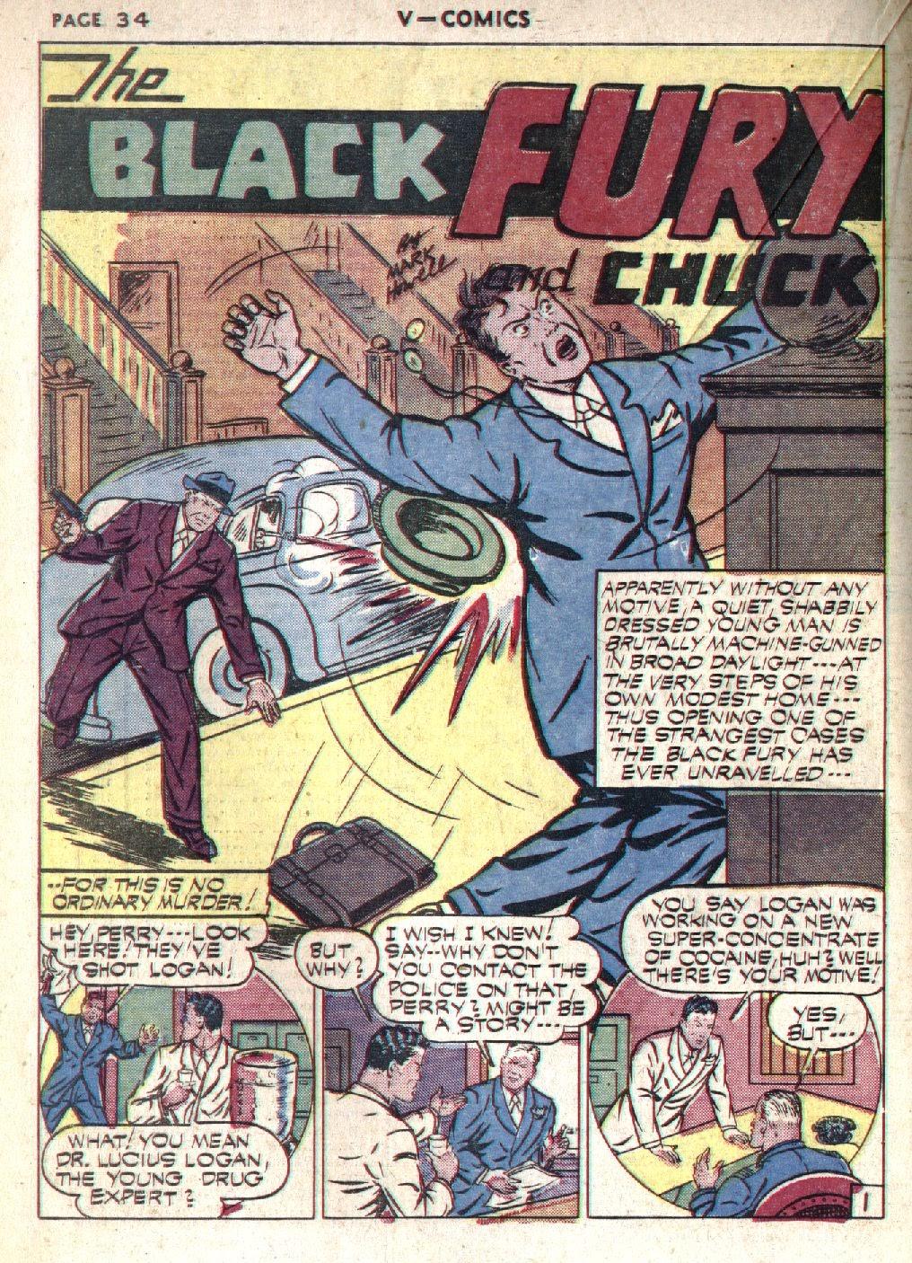 Read online V...- Comics comic -  Issue #1 - 35