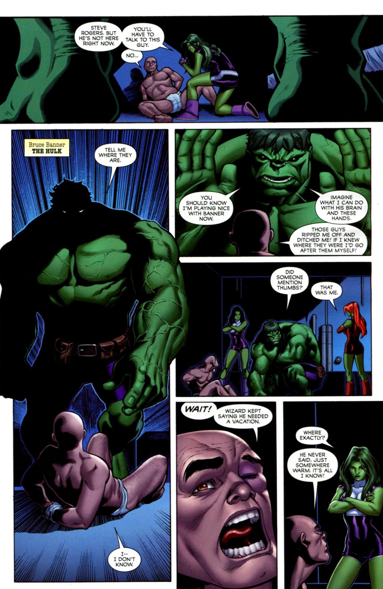 Read online She-Hulks comic -  Issue #1 - 9