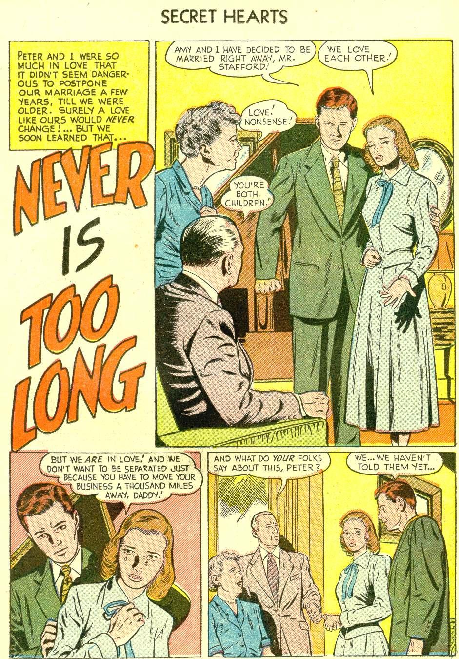 Read online Secret Hearts comic -  Issue #21 - 11